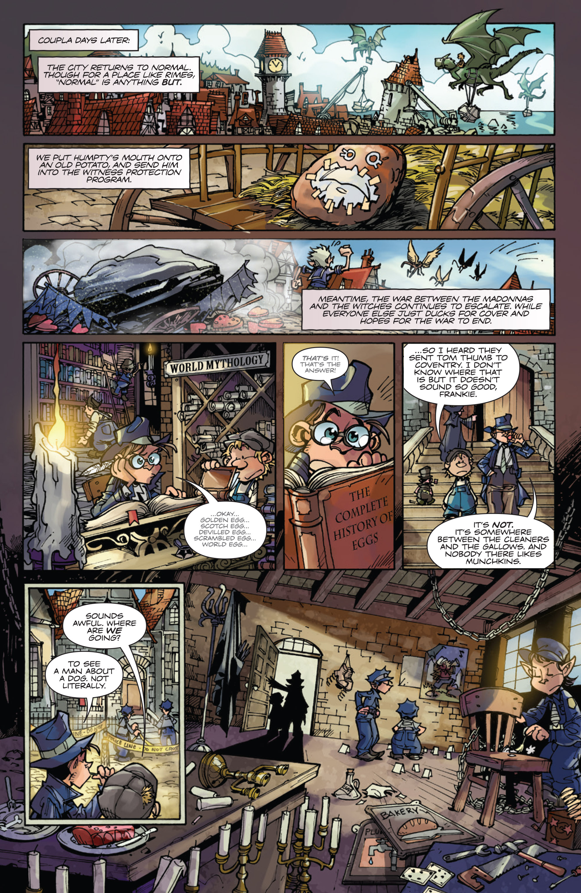 Read online Fiction Squad comic -  Issue #5 - 10