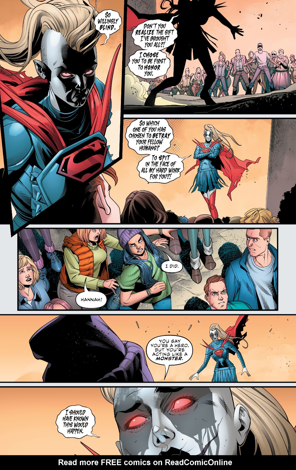 Read online Supergirl (2016) comic -  Issue #38 - 14