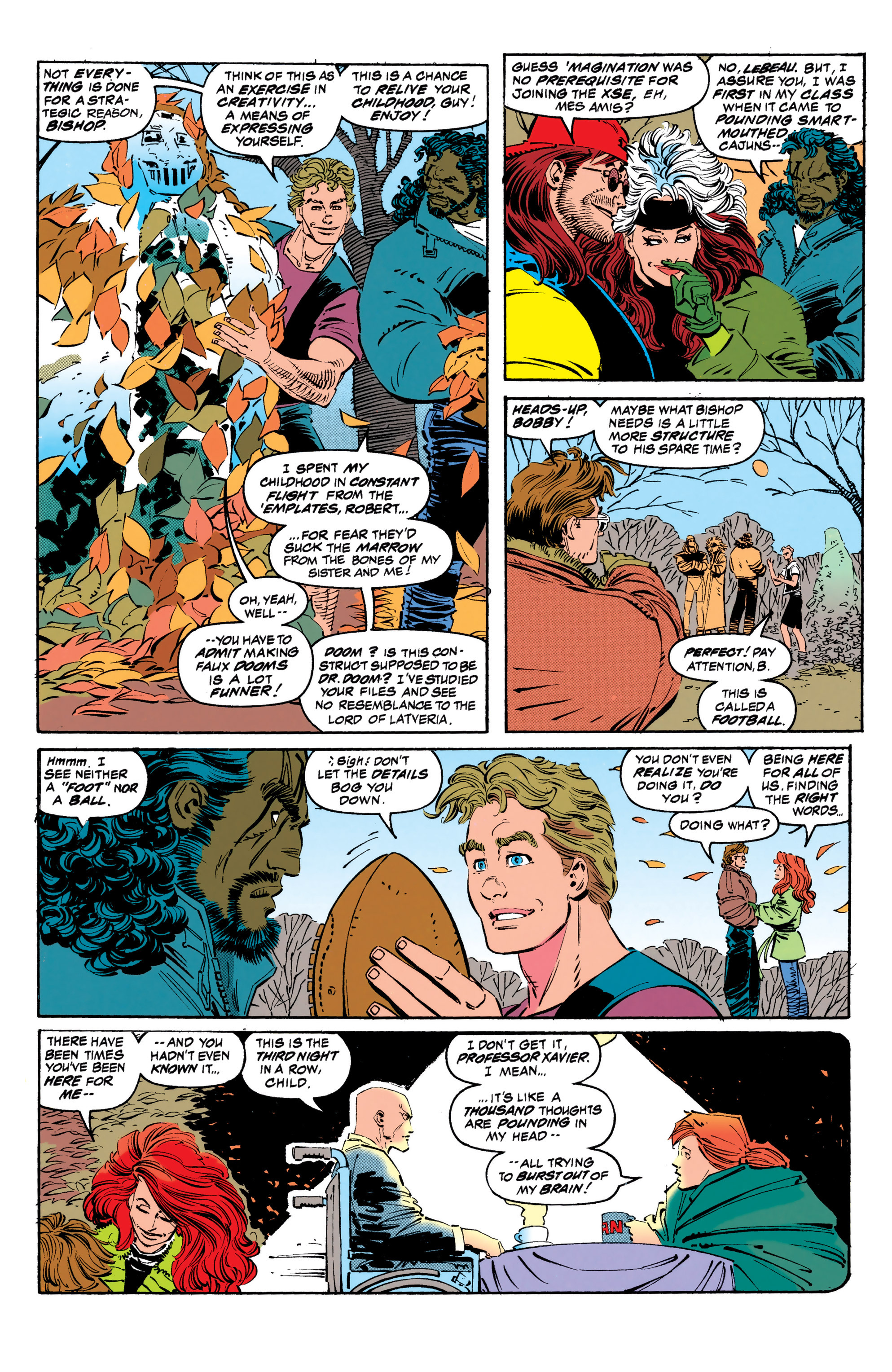 Read online Uncanny X-Men (1963) comic -  Issue #308 - 7