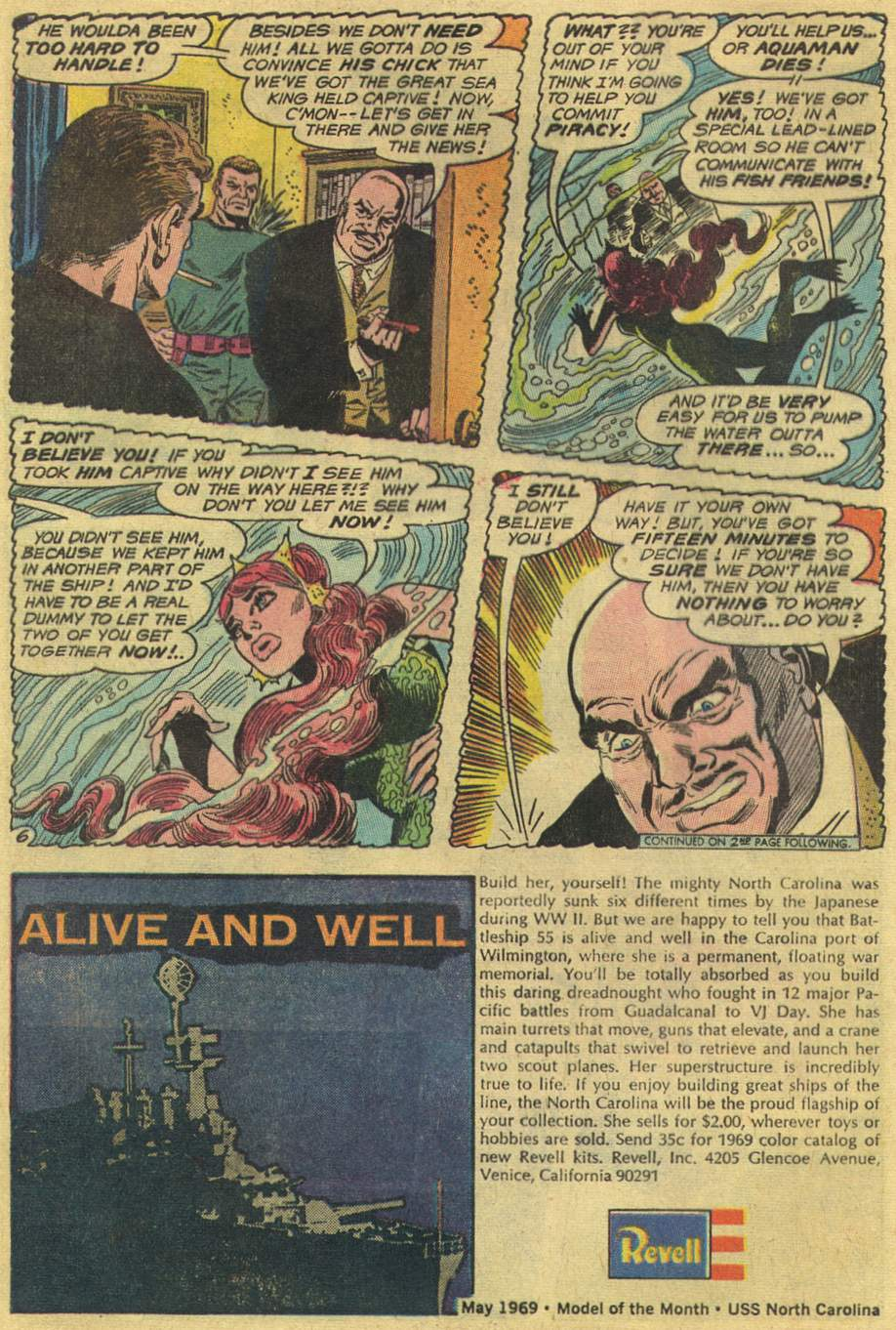 Read online Aquaman (1962) comic -  Issue #46 - 8