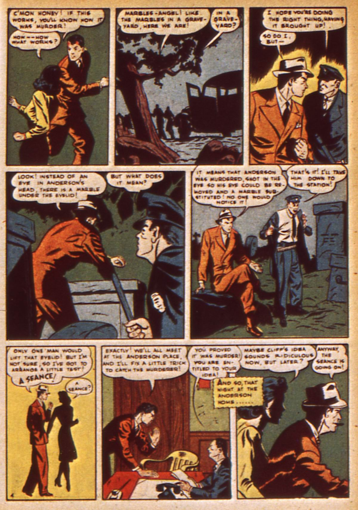 Read online Detective Comics (1937) comic -  Issue #47 - 55