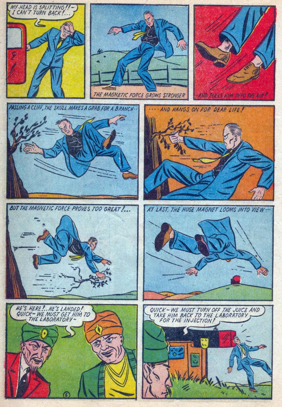 Read online Amazing Man Comics comic -  Issue #15 - 23