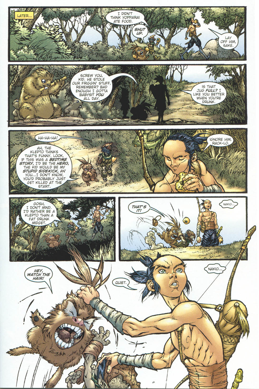 Read online Ninja Boy comic -  Issue #5 - 8