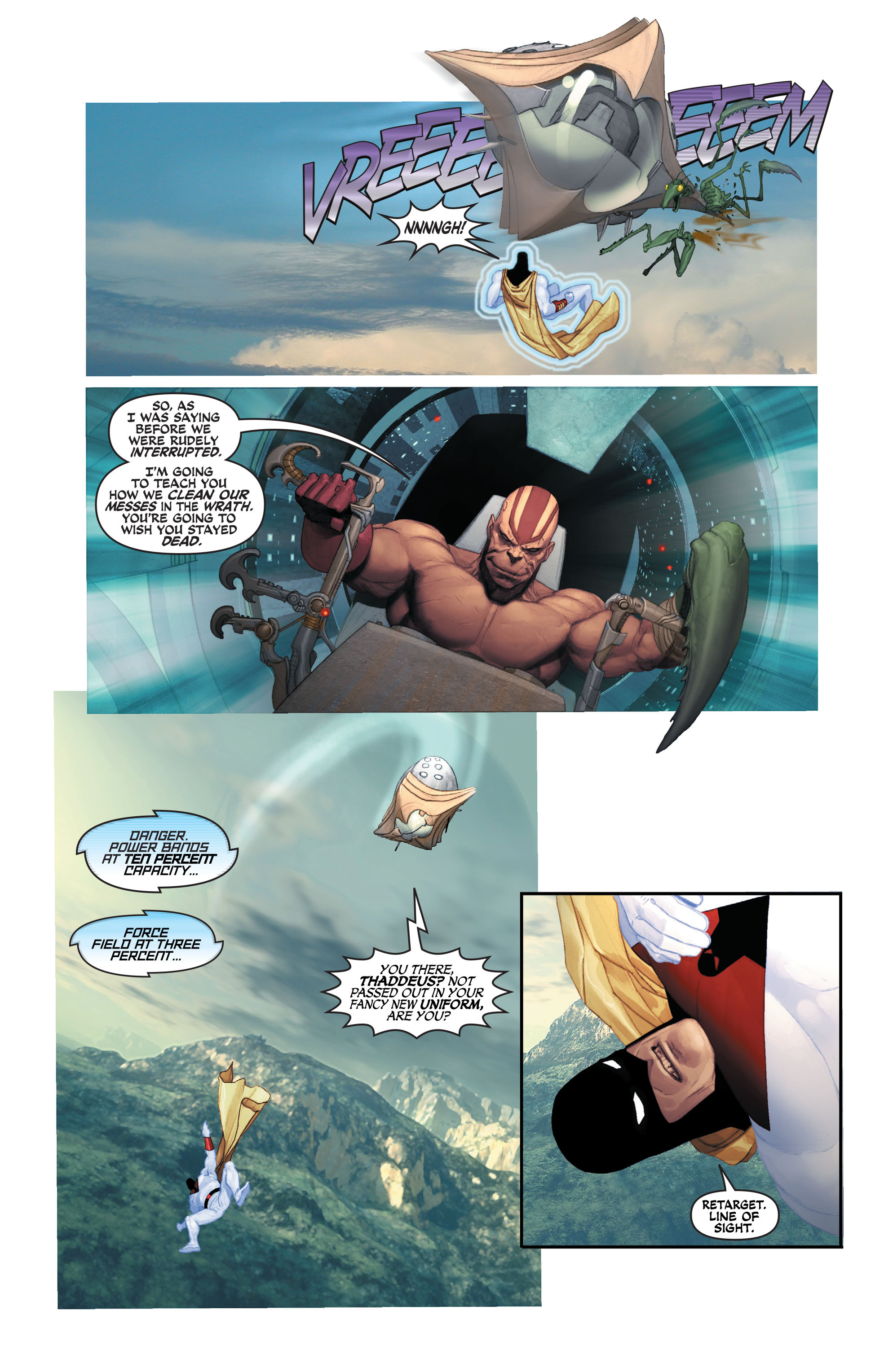 Read online Space Ghost (2016) comic -  Issue # Full - 122
