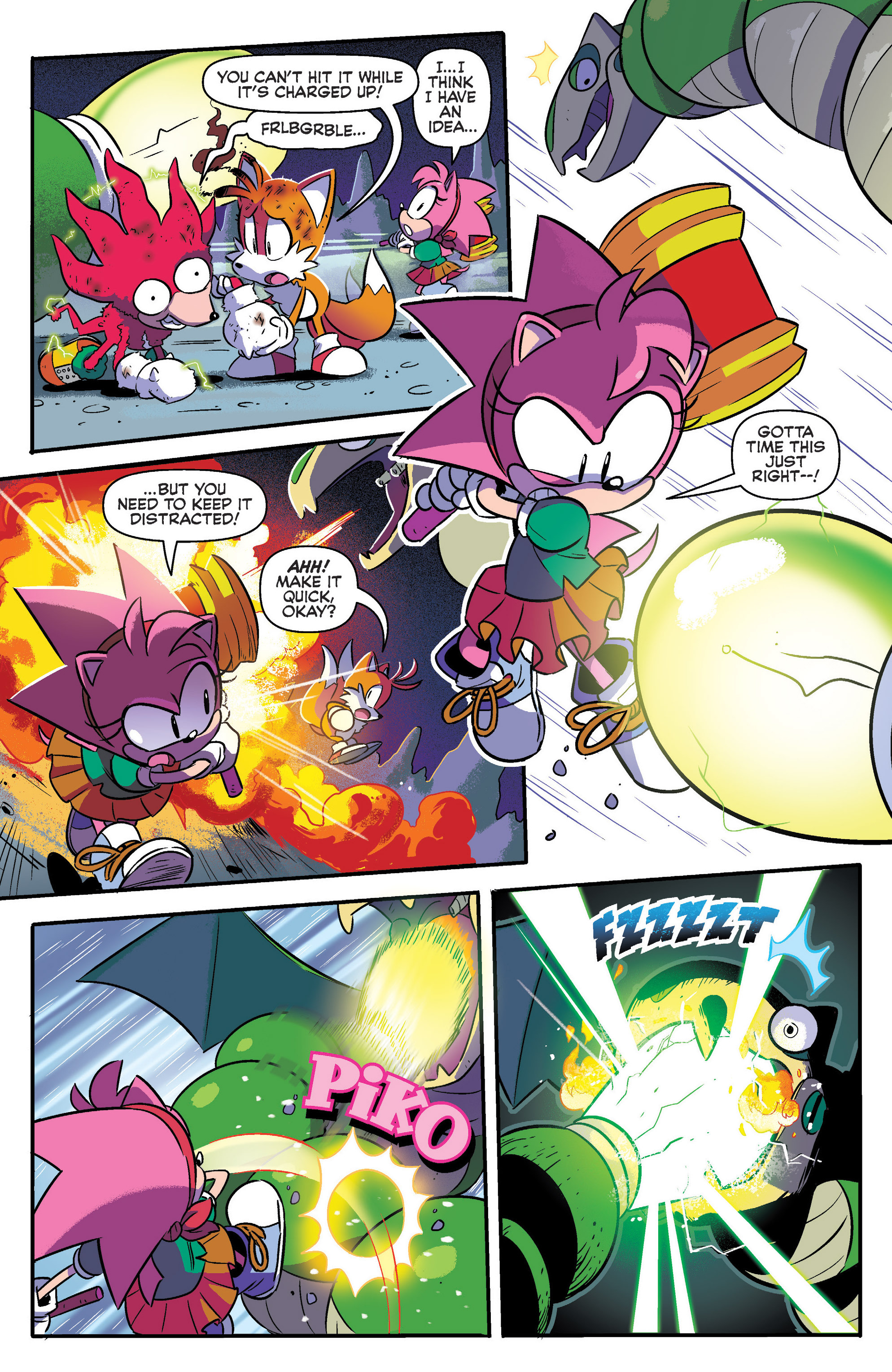 Read online Sonic: Mega Drive - The Next Level comic -  Issue # Full - 11