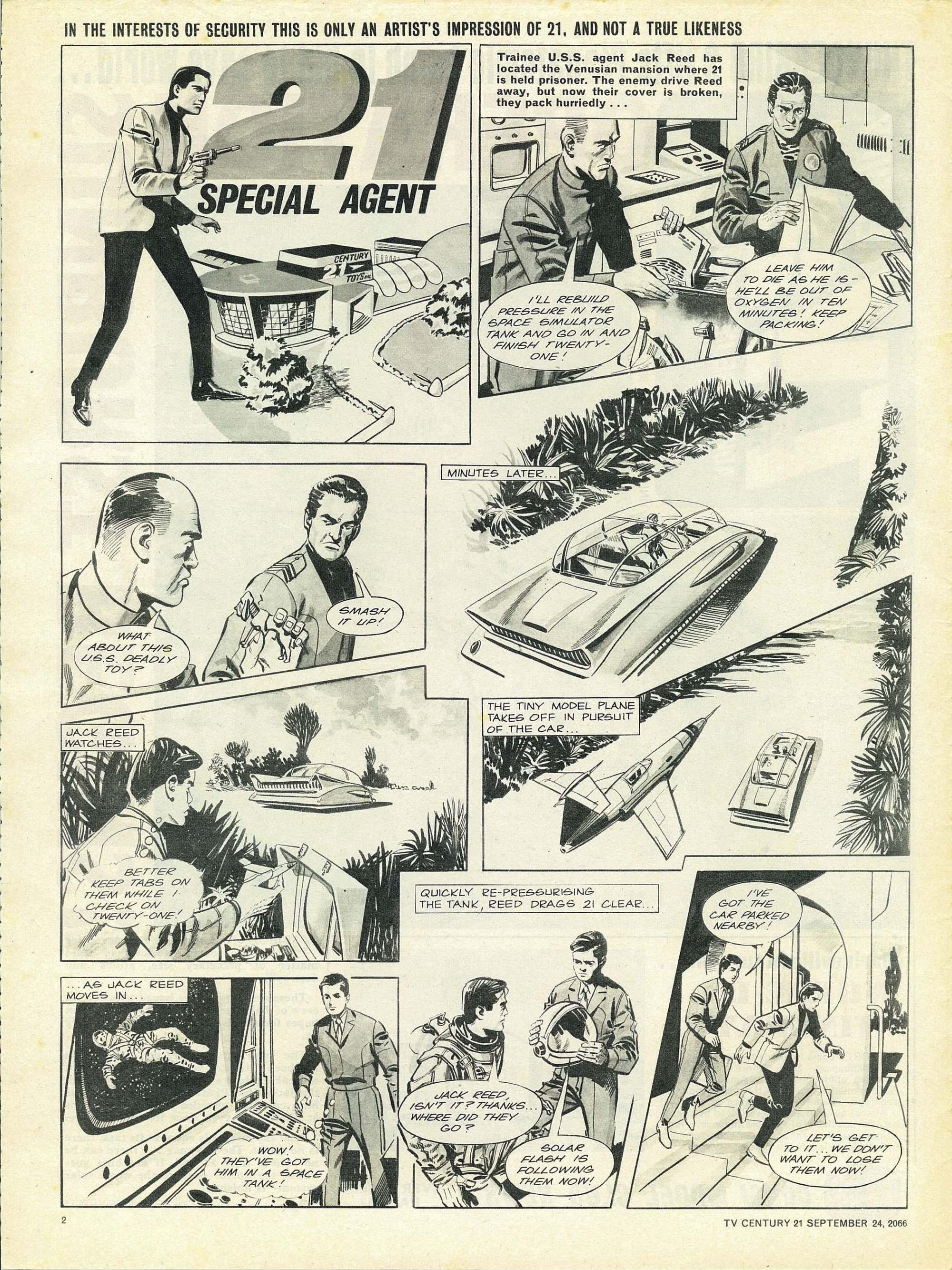 Read online TV Century 21 (TV 21) comic -  Issue #88 - 2