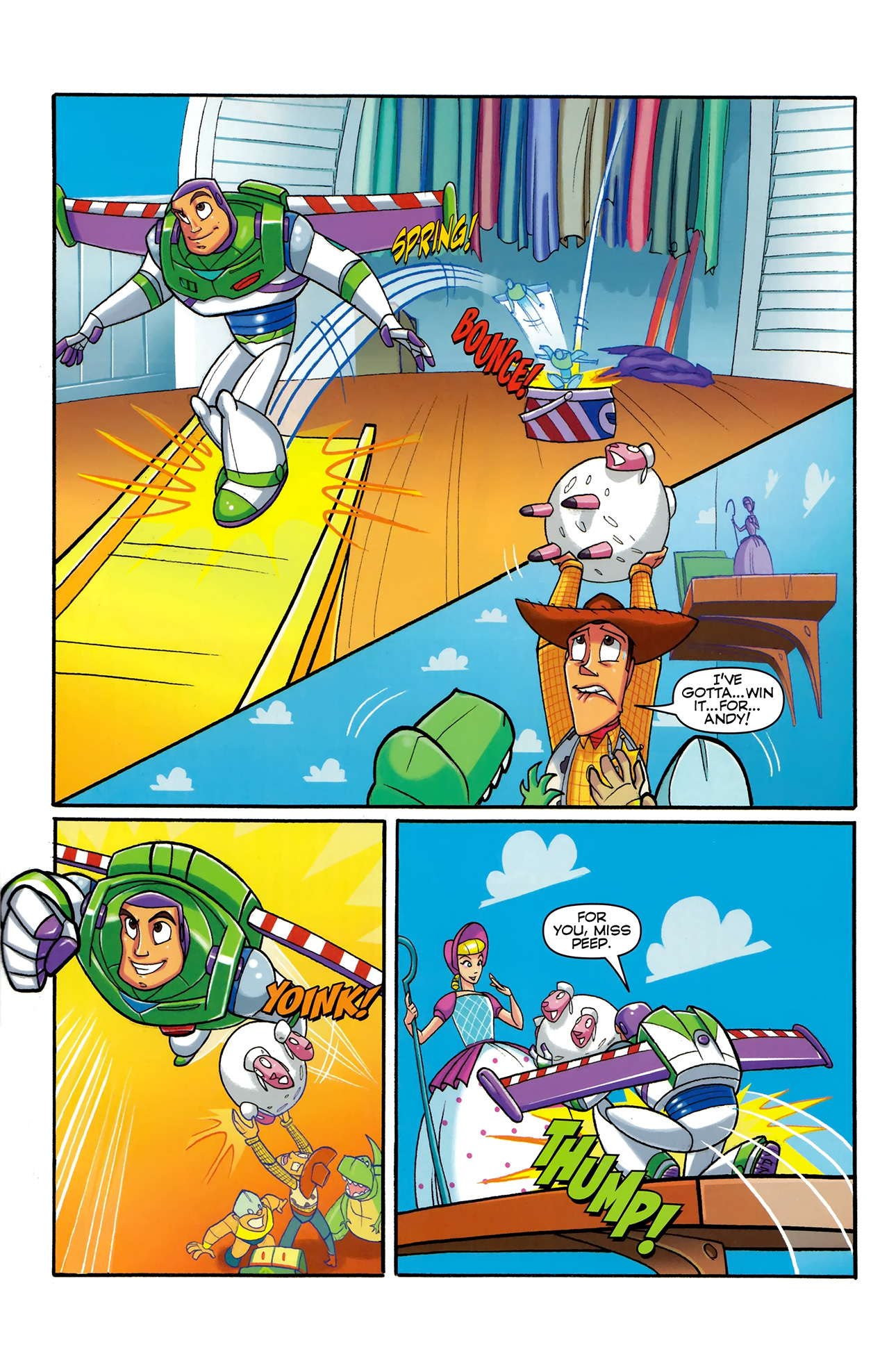 Read online Toy Story (2009) comic -  Issue #5 - 20