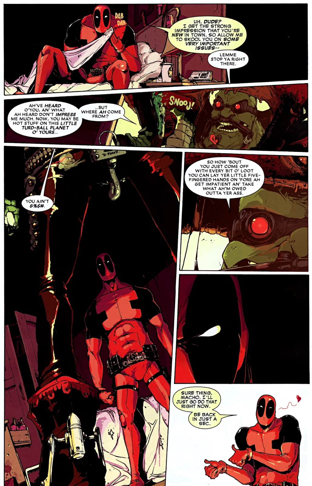 Read online Deadpool (2008) comic -  Issue #32 - 5