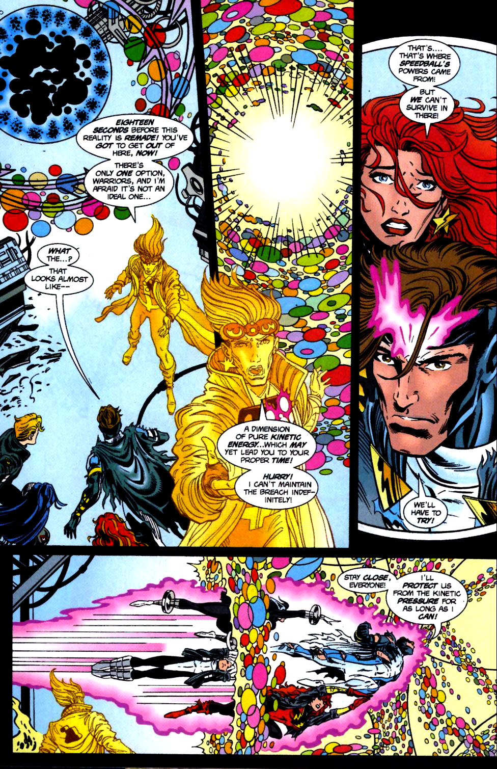 The New Warriors Issue #71 #75 - English 19