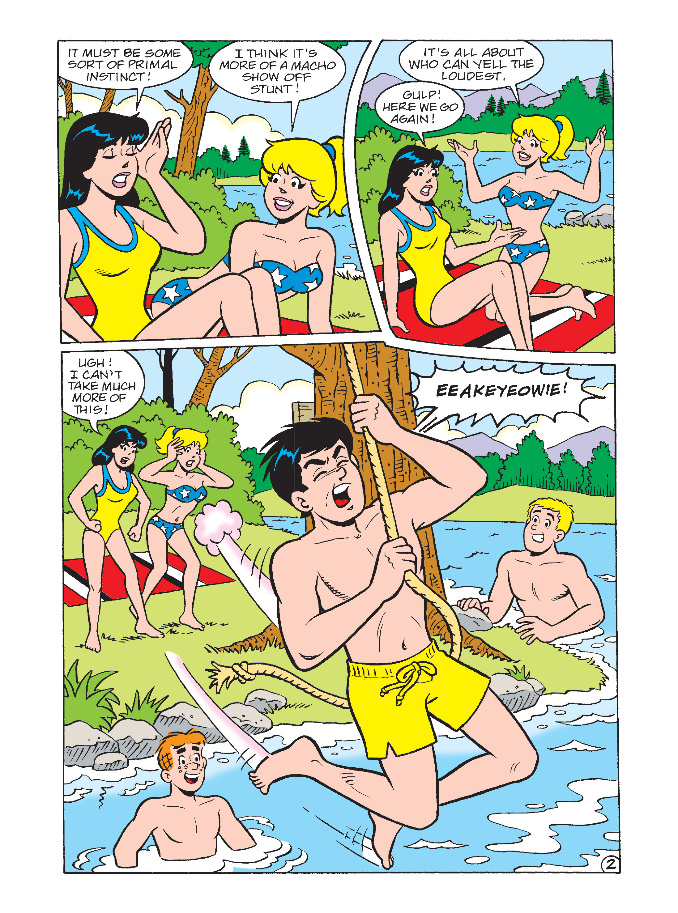 Read online Archie's Funhouse Double Digest comic -  Issue #7 - 108