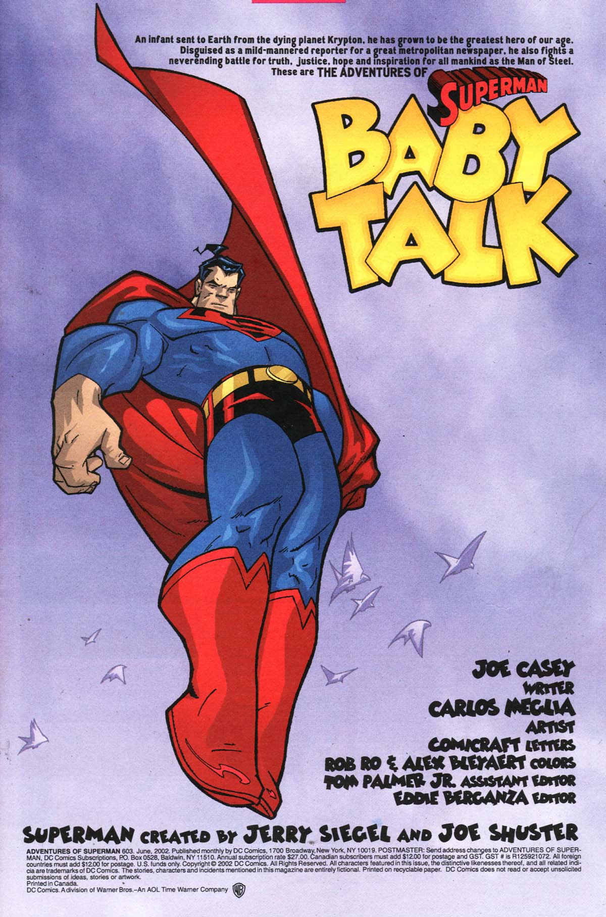 Read online Adventures of Superman (1987) comic -  Issue #603 - 2