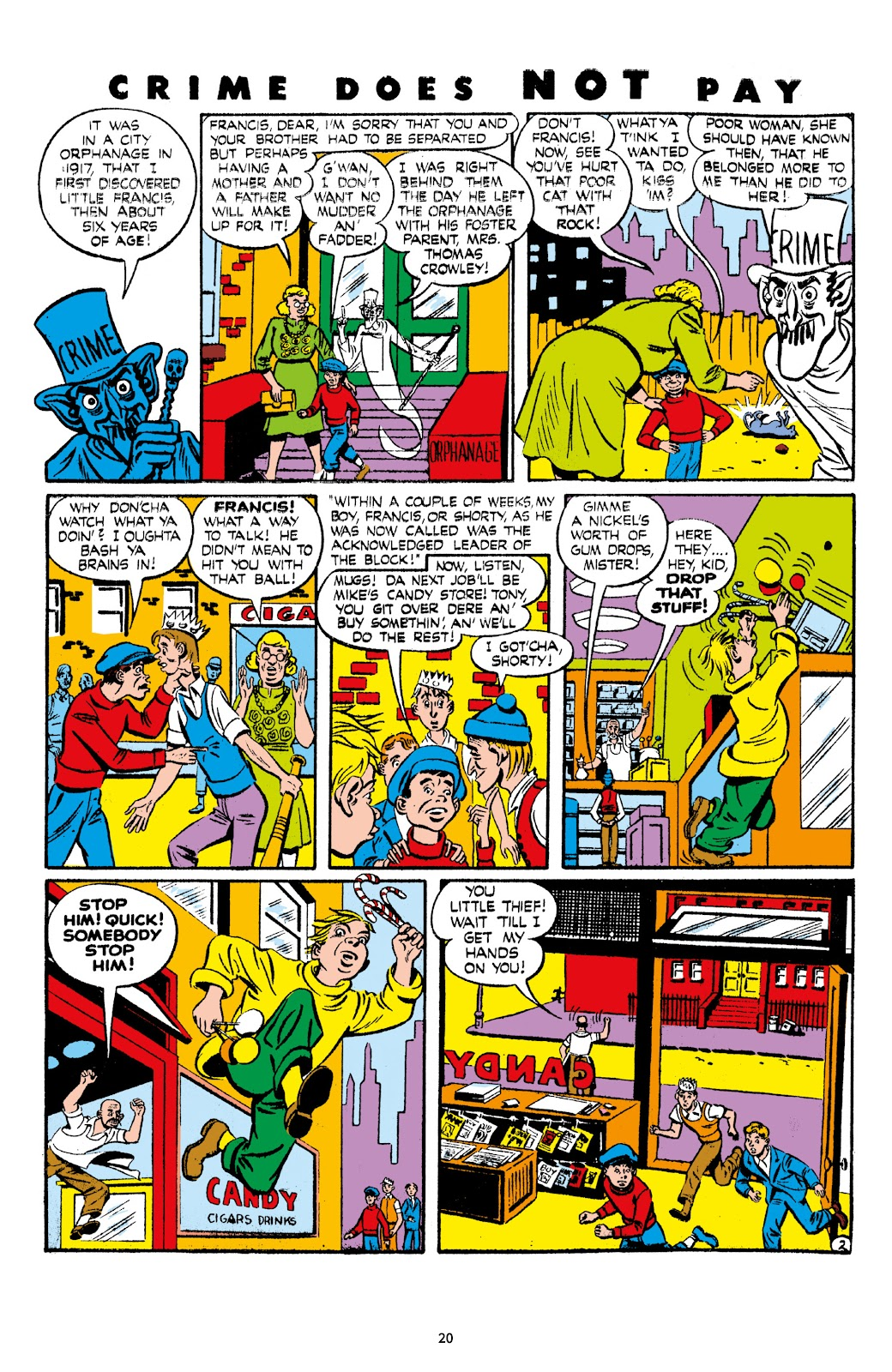 Read online Crime Does Not Pay Archives comic -  Issue # TPB 7 (Part 1) - 22
