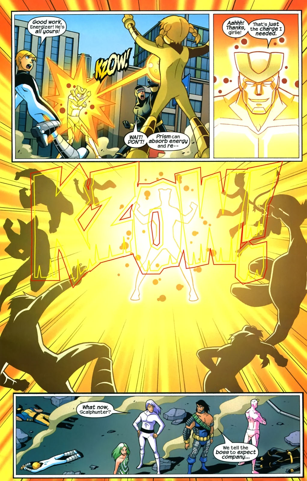 Read online X-Men and Power Pack comic -  Issue #4 - 6