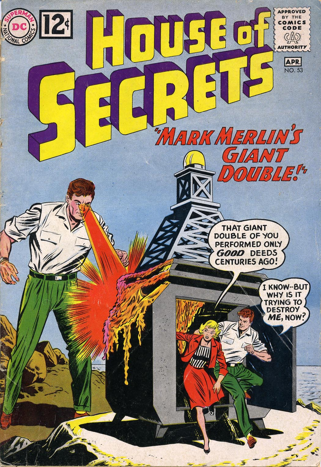 House of Secrets (1956) issue 53 - Page 1