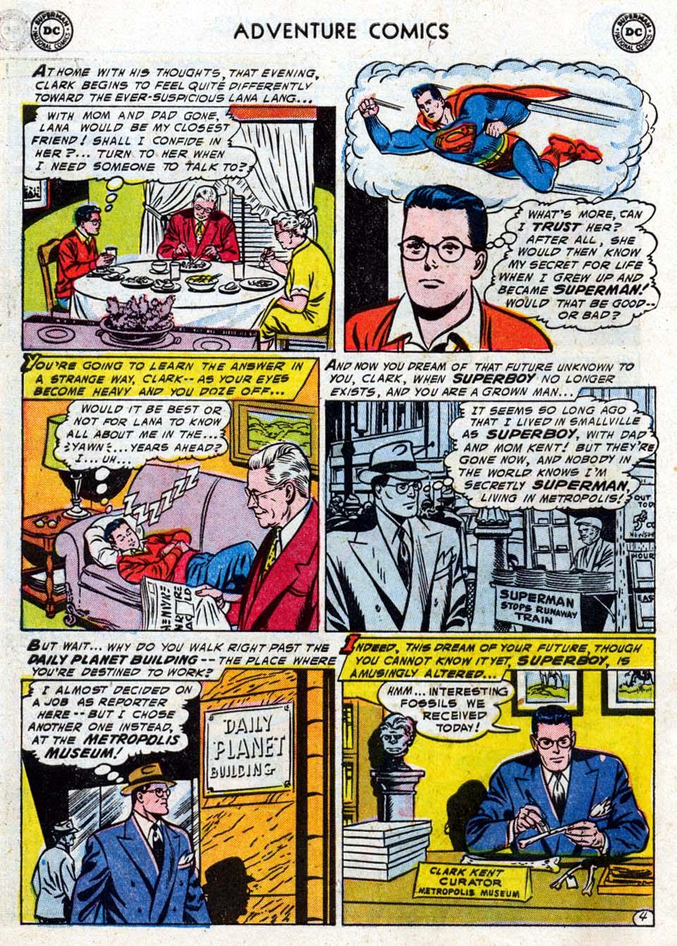 Read online Adventure Comics (1938) comic -  Issue #211 - 6