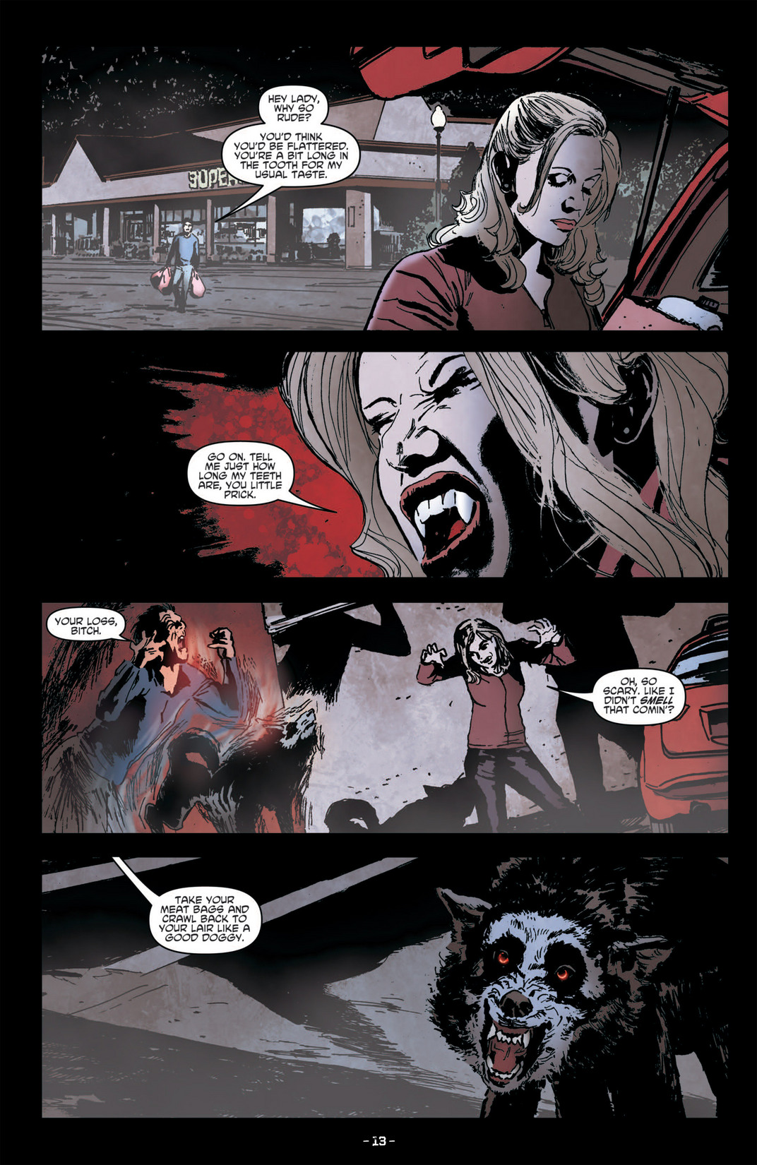 Read online True Blood (2012) comic -  Issue #6 - 15