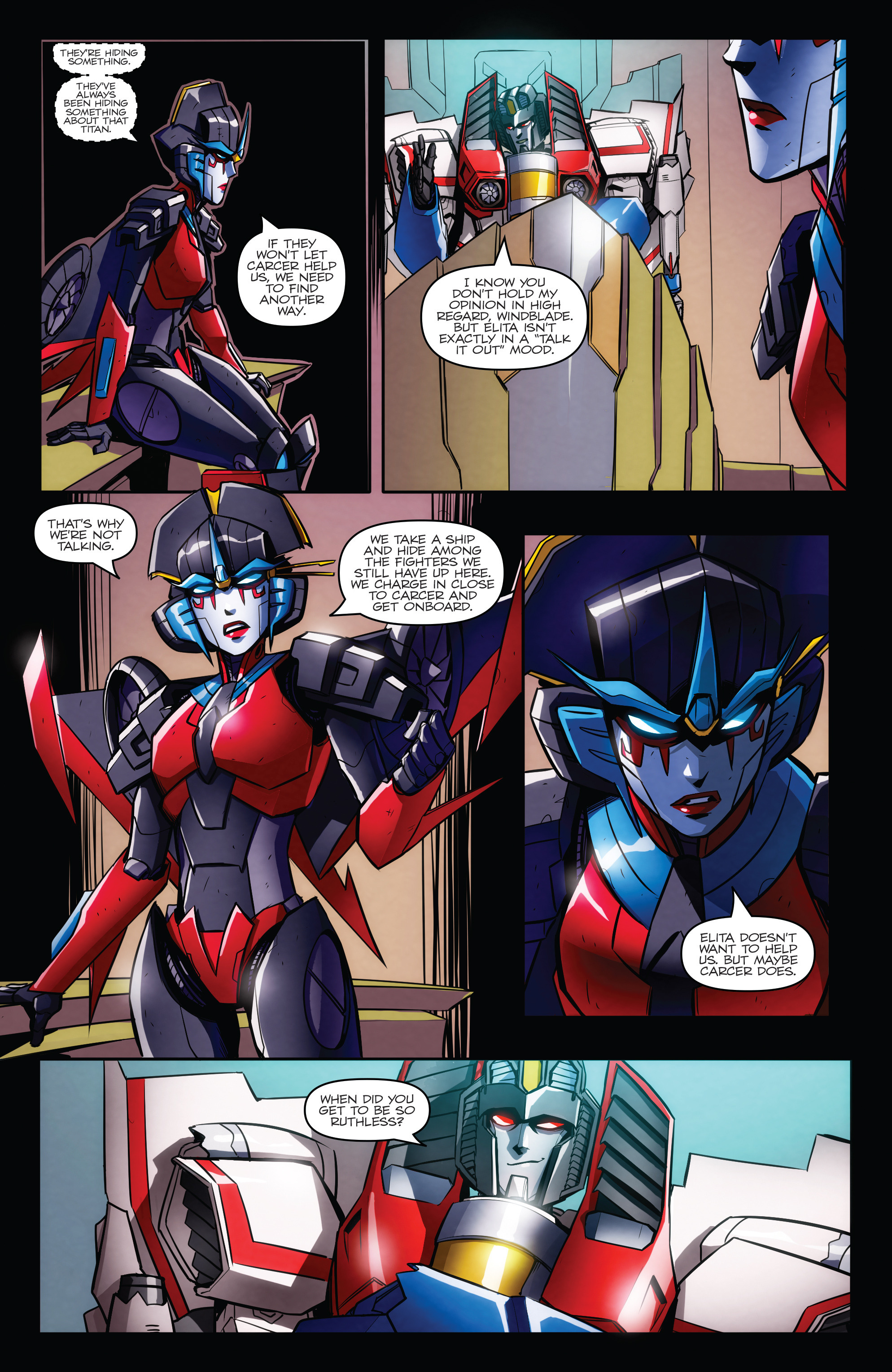 Read online Transformers: Till All Are One comic -  Issue #6 - 18
