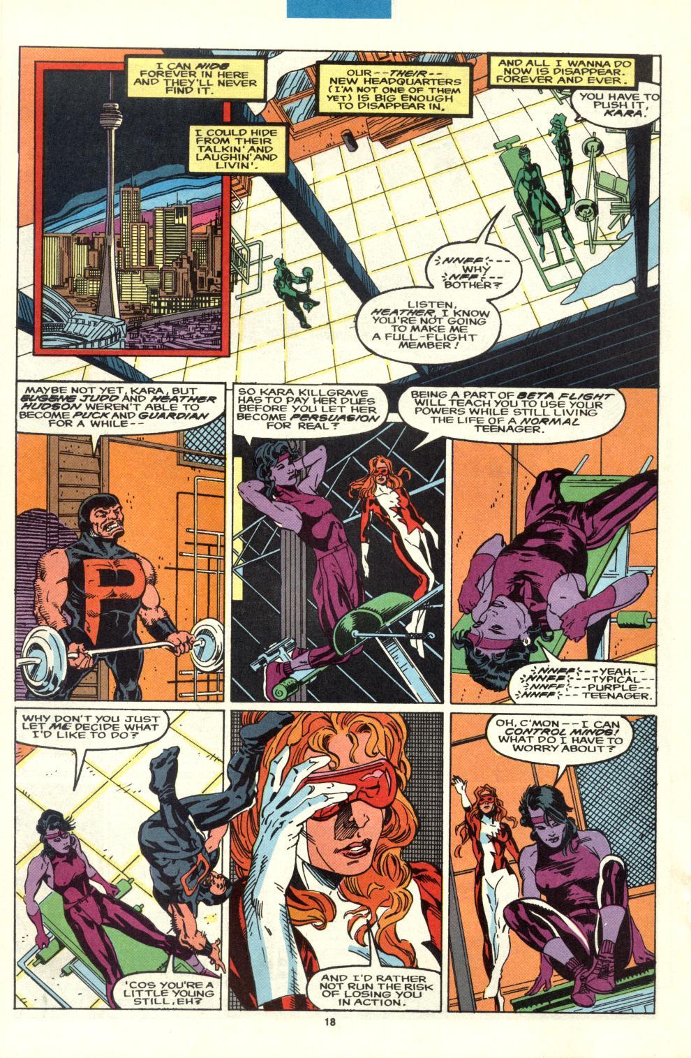 Read online Alpha Flight (1983) comic -  Issue #95 - 14