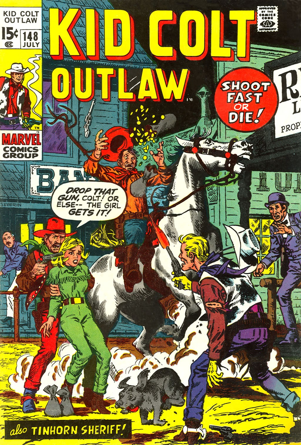 Kid Colt Outlaw issue 148 - Page 1