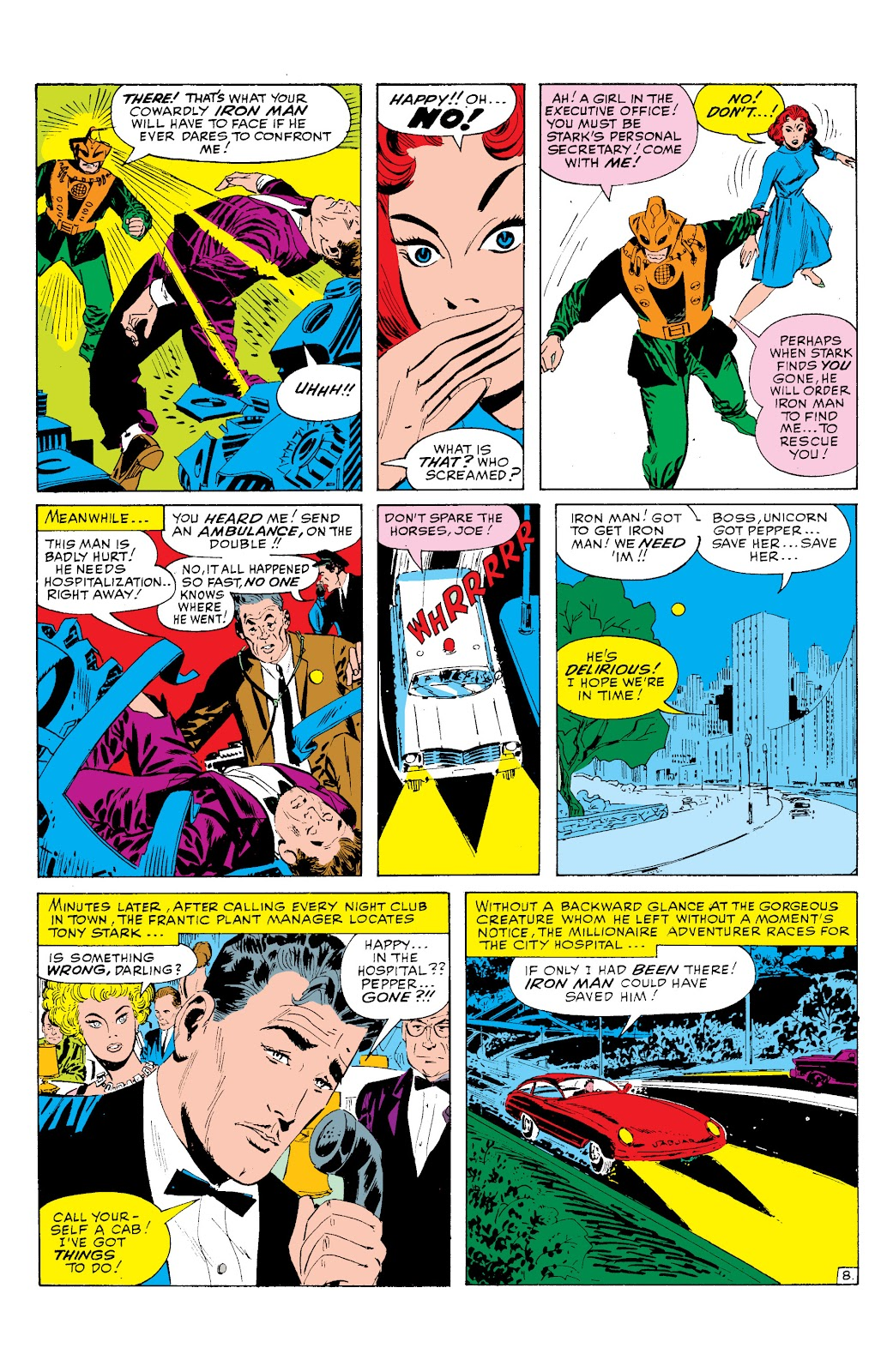 Read online Marvel Masterworks: The Invincible Iron Man comic -  Issue # TPB 2 (Part 1) - 89