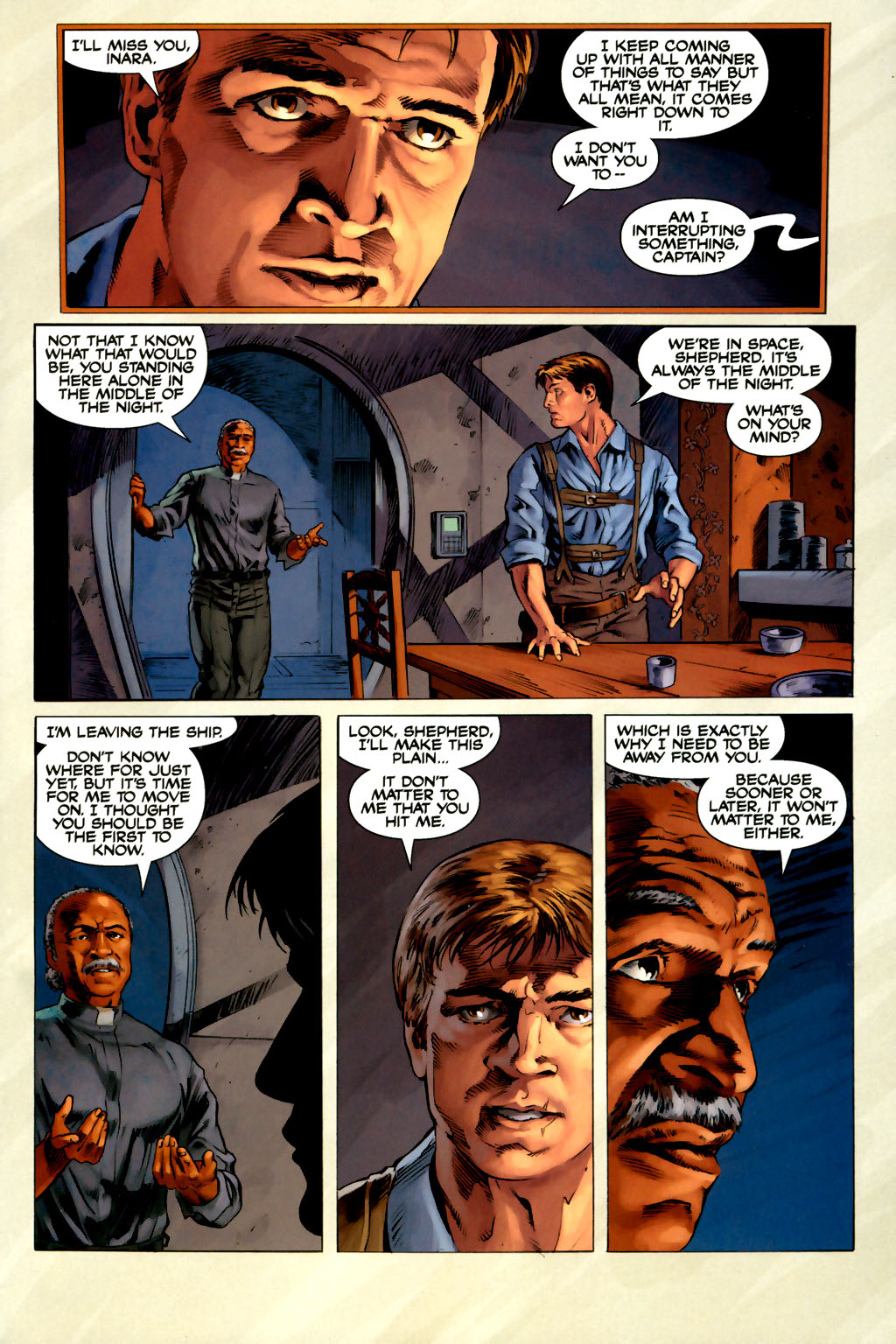 Read online Serenity comic -  Issue #3 - 23