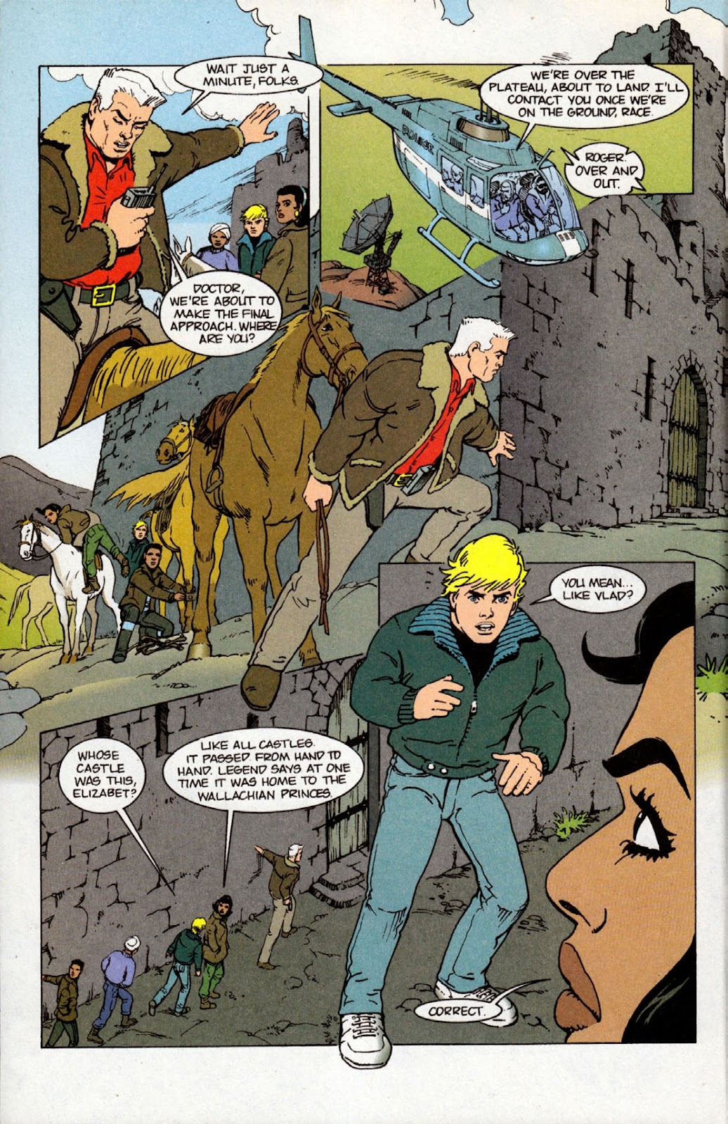 Read online The Real Adventures of Jonny Quest comic -  Issue #4 - 14