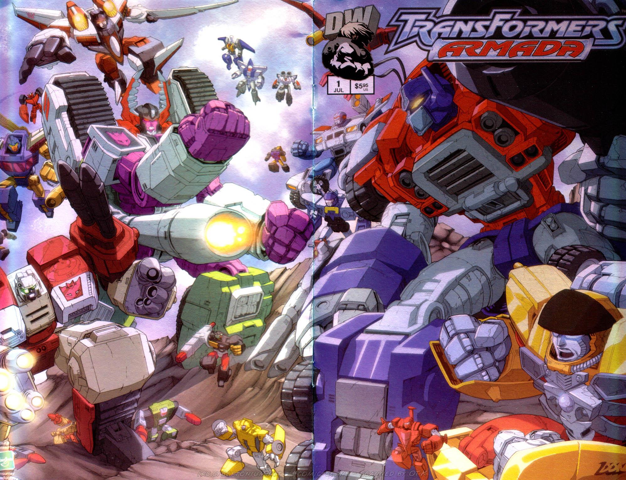 Read online Transformers Armada comic -  Issue #1 - 1