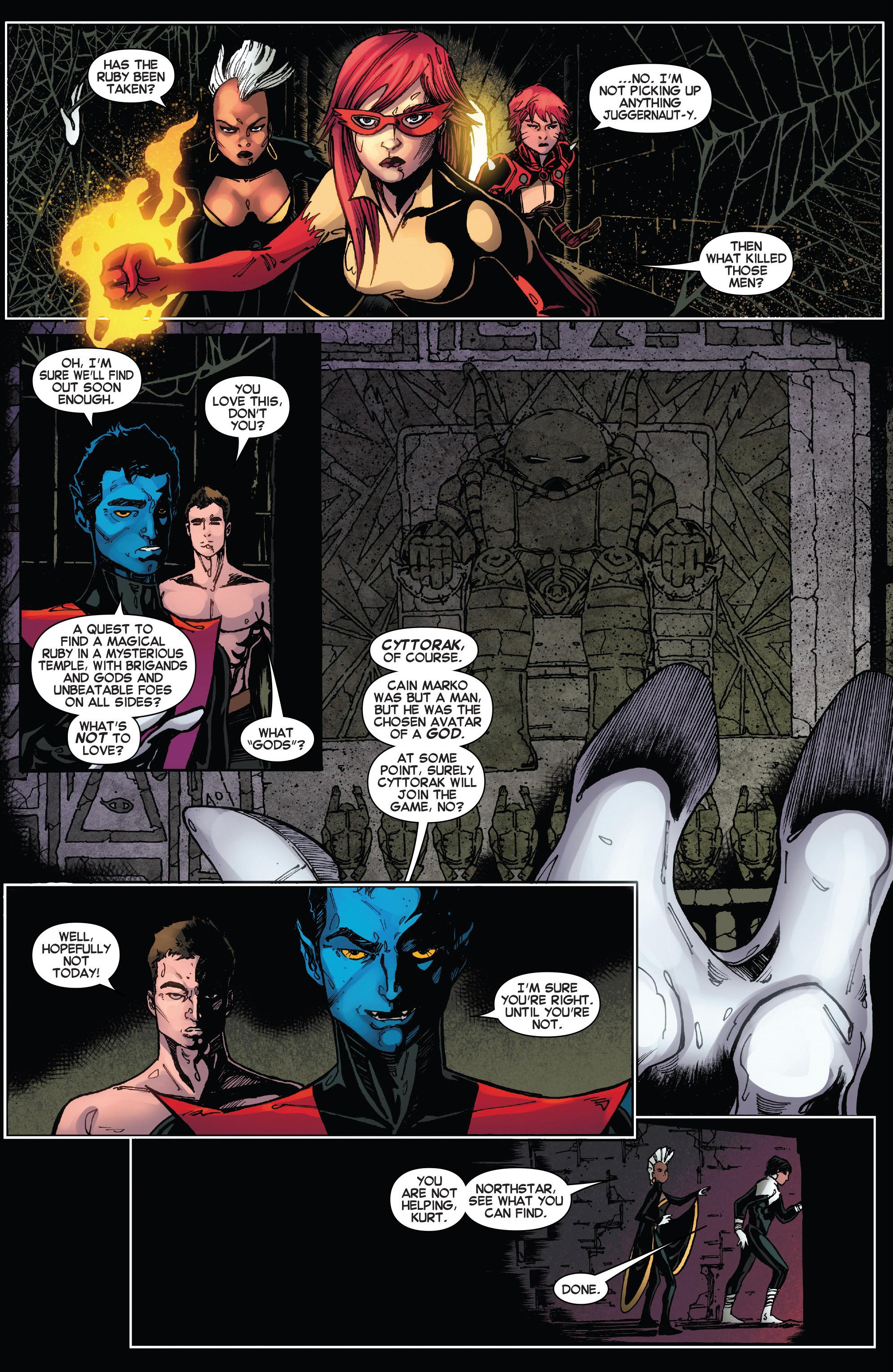 Read online Amazing X-Men (2014) comic -  Issue #15 - 20