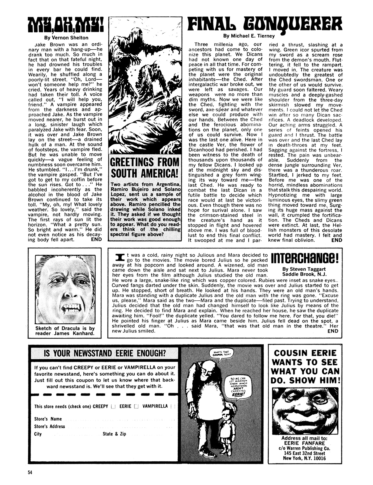 Read online Eerie Archives comic -  Issue # TPB 8 - 55