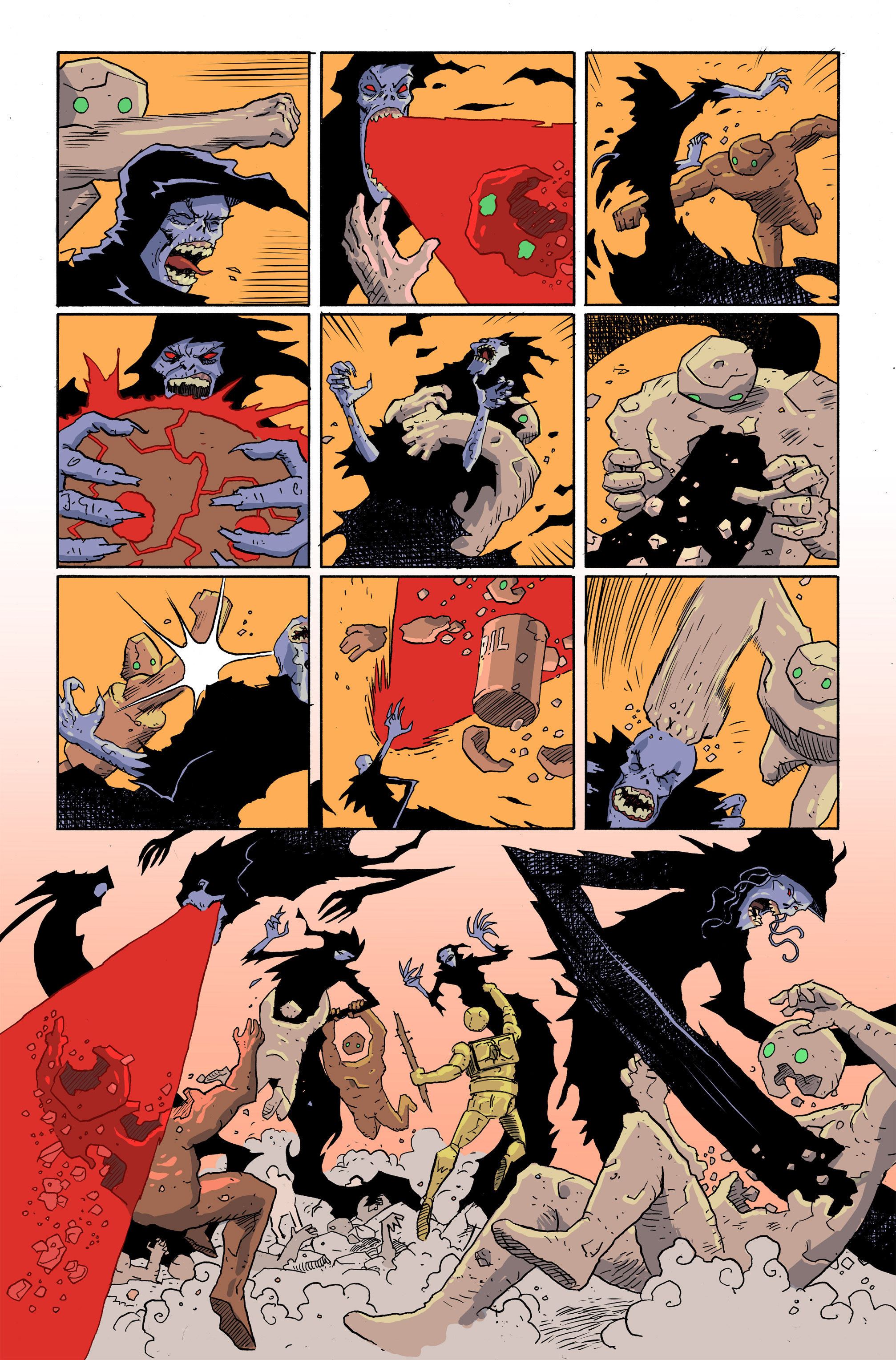 Read online Amelia Cole Versus The End of Everything comic -  Issue #28 - 6