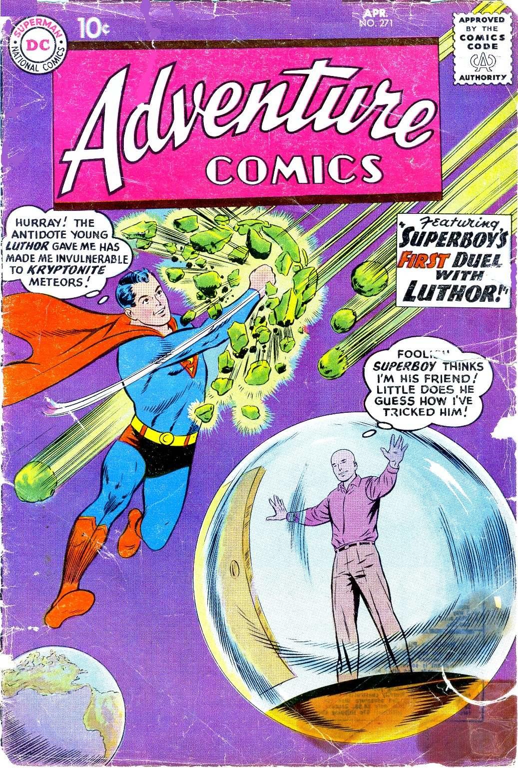 Read online Adventure Comics (1938) comic -  Issue #271 - 1