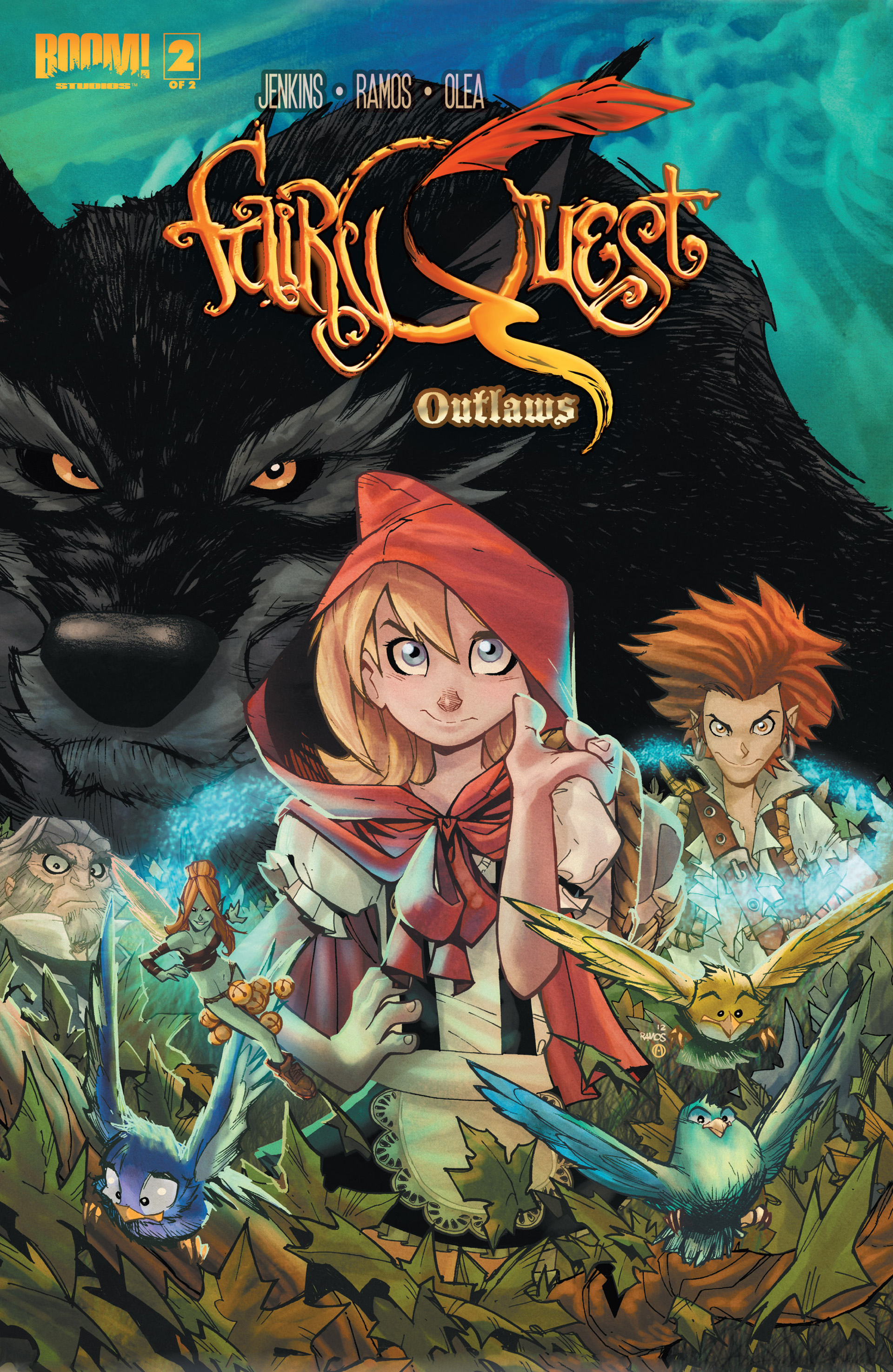 Read online Fairy Quest: Outlaws comic -  Issue #2 - 1