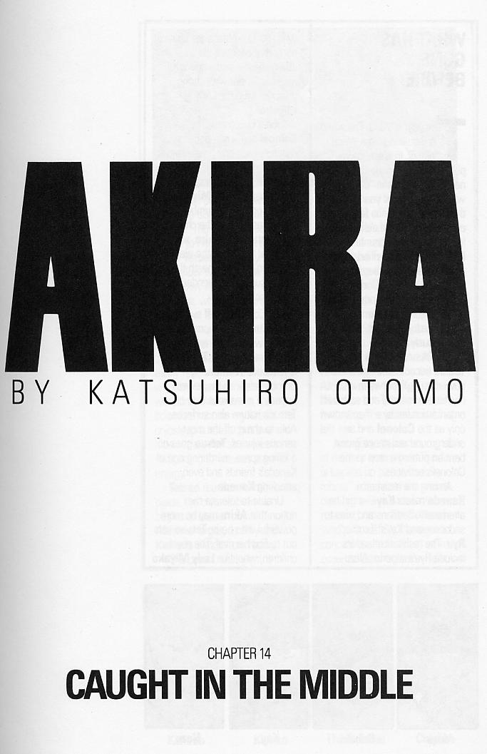 Read online Akira comic -  Issue #14 - 4