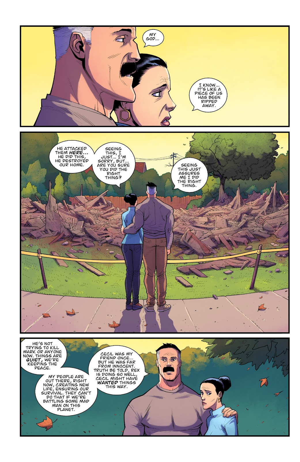 Invincible (2003) issue TPB 21 - Modern Family - Page 28