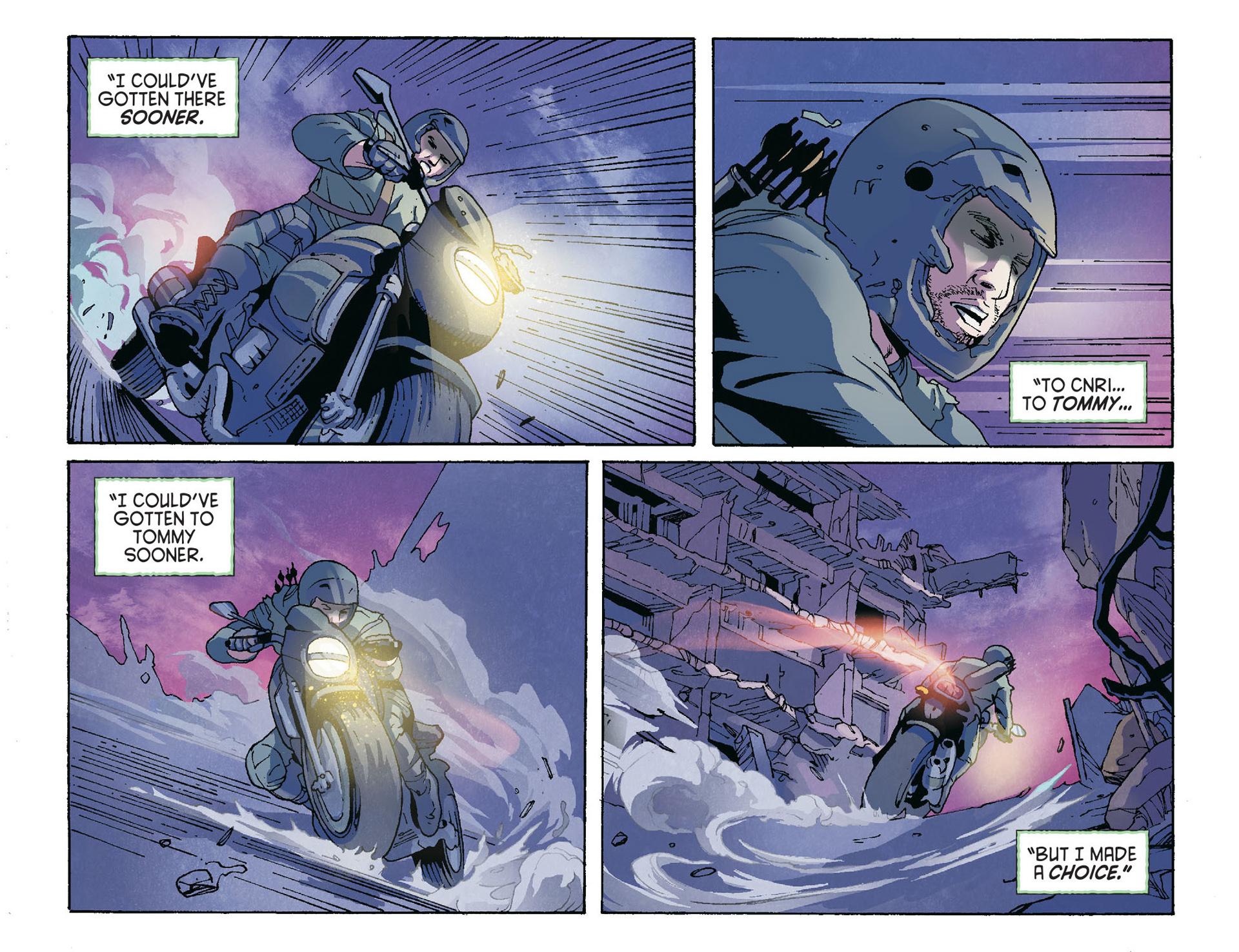 Read online Arrow [II] comic -  Issue #36 - 16