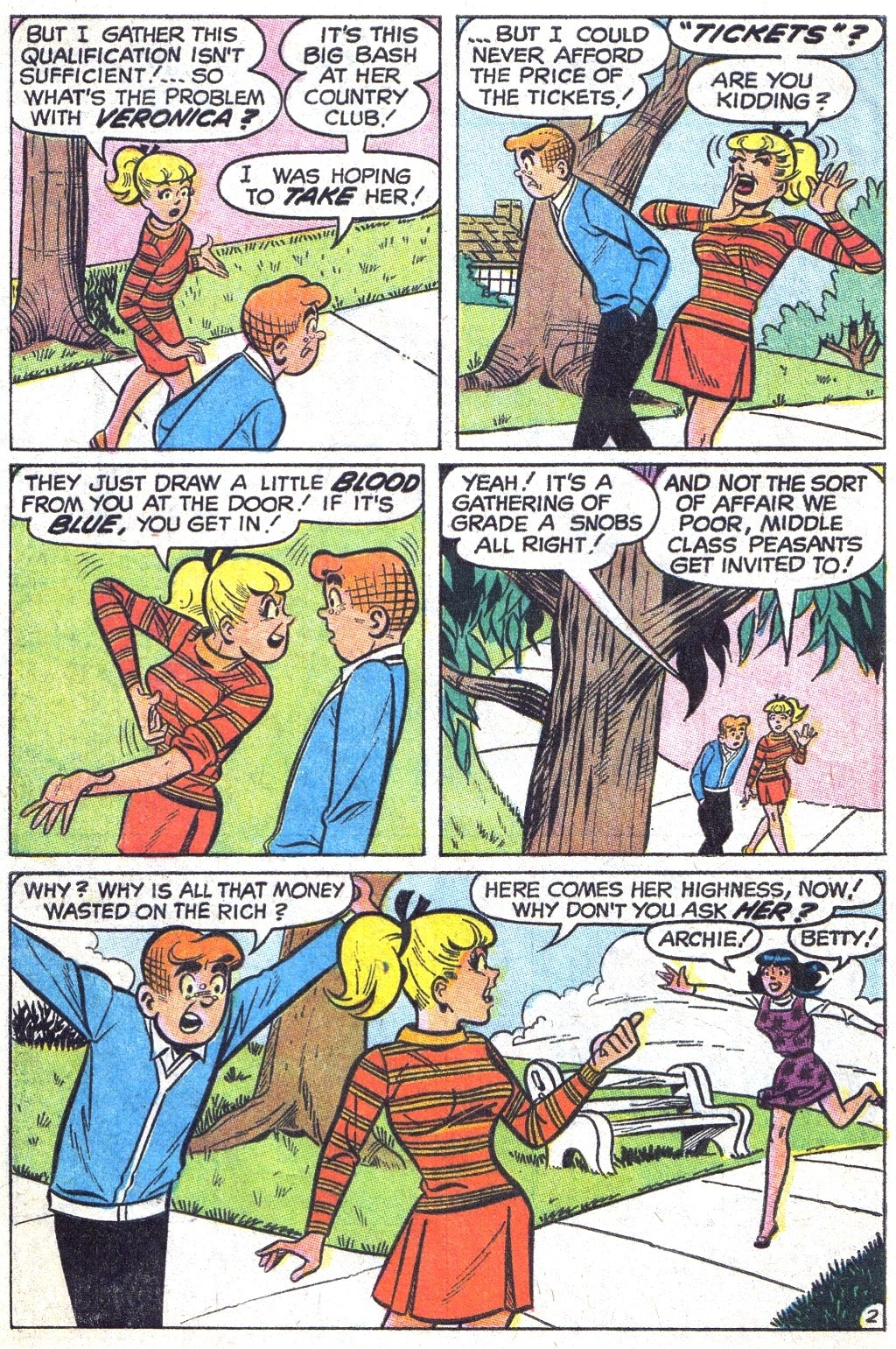 Read online Archie (1960) comic -  Issue #193 - 4