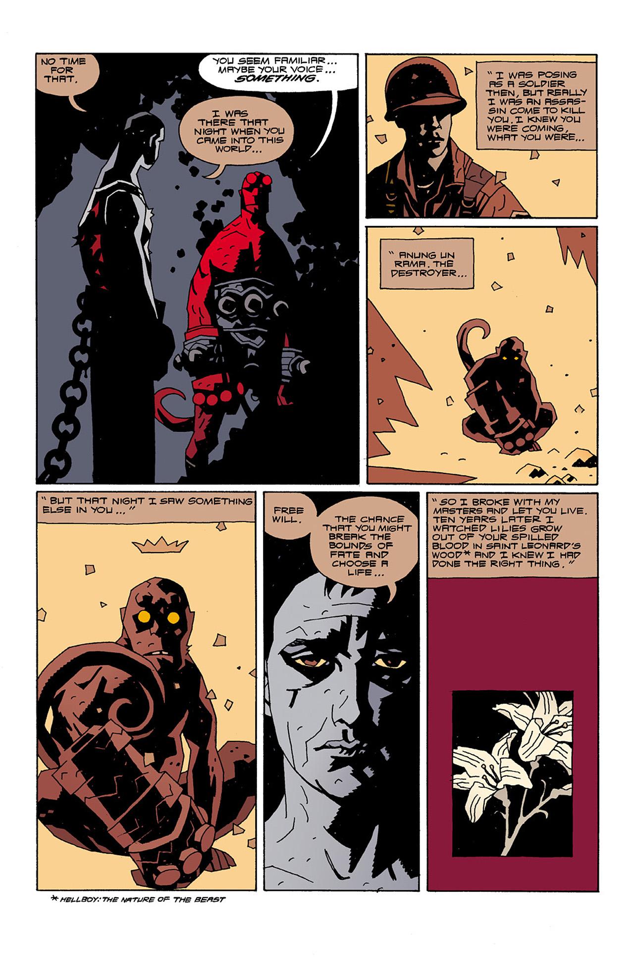 Read online Hellboy: Conqueror Worm comic -  Issue #2 - 25