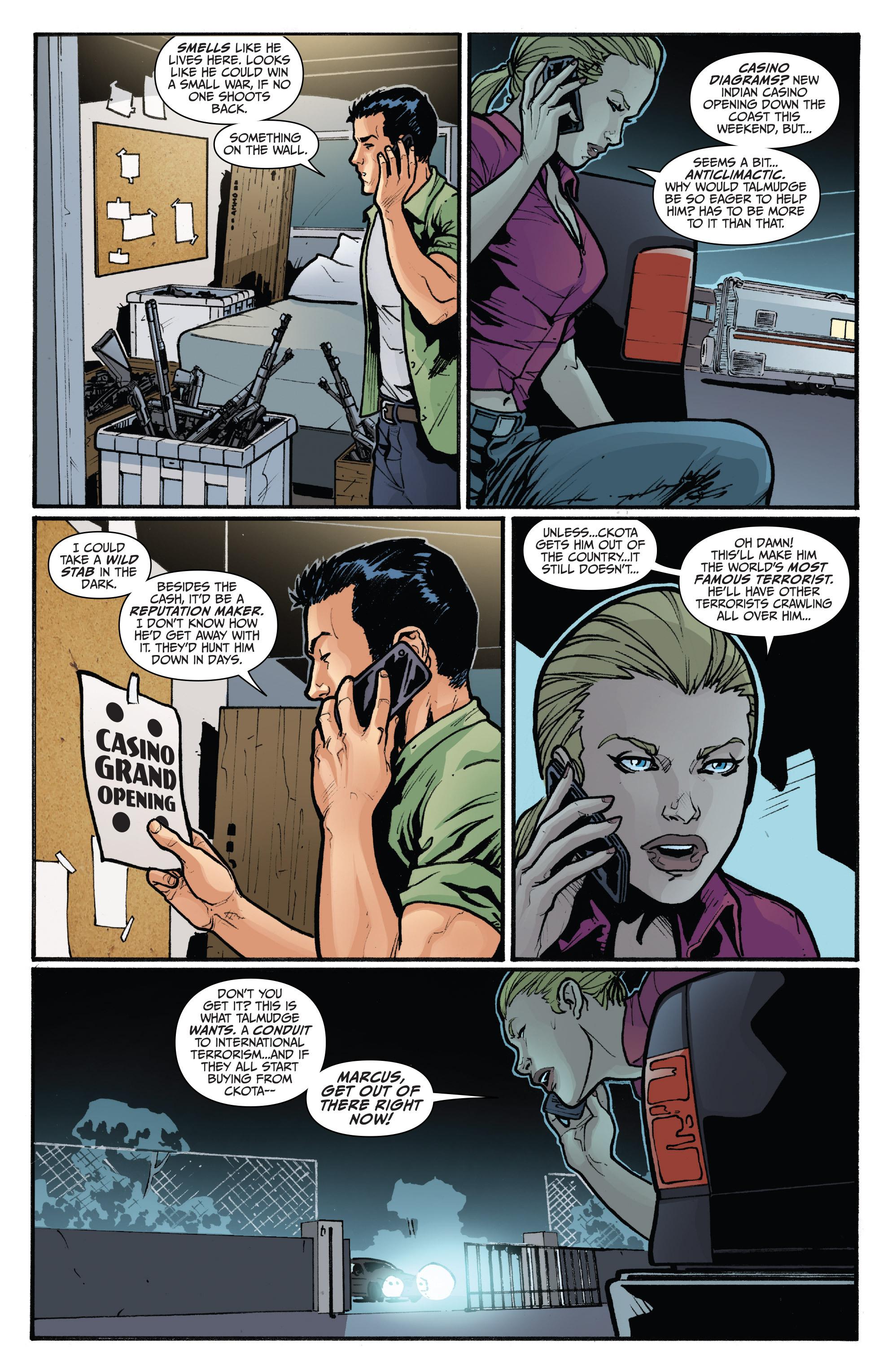 Read online 3 Guns comic -  Issue #5 - 22