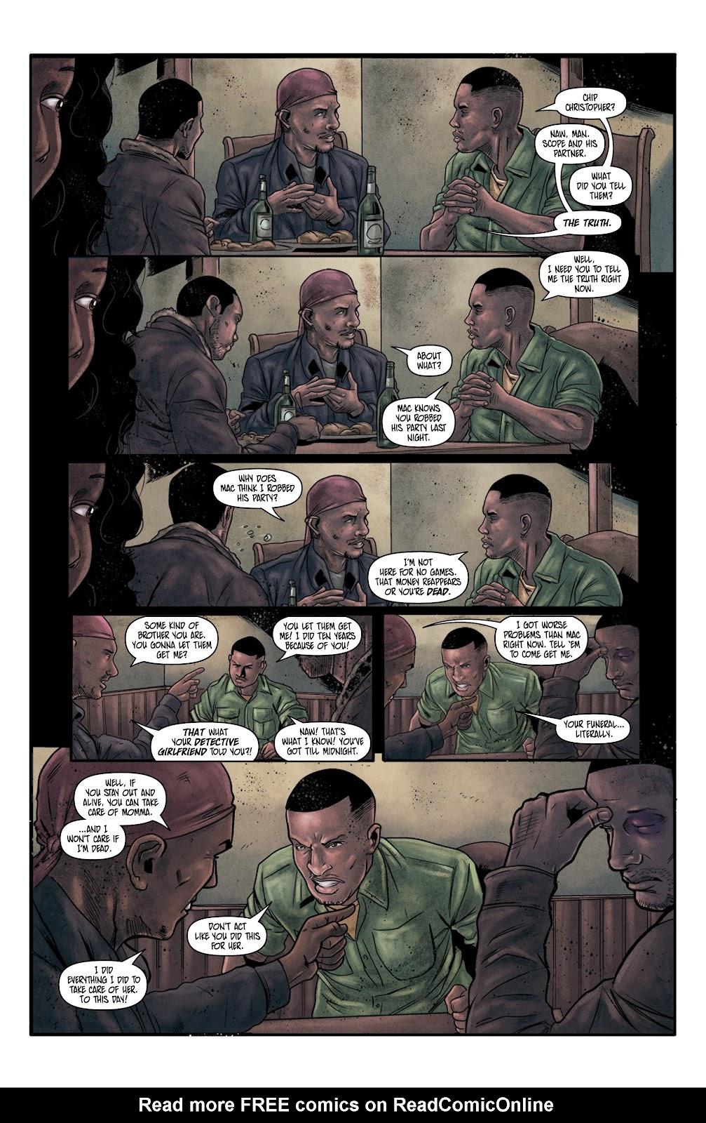 Read online Vindication comic -  Issue #4 - 18