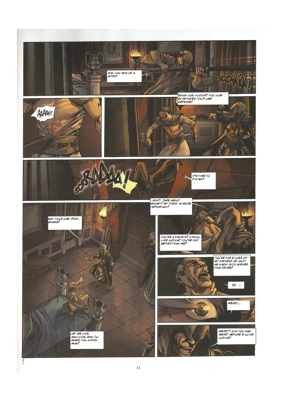 Read online Assassin's Creed (2009) comic -  Issue #3 - 11