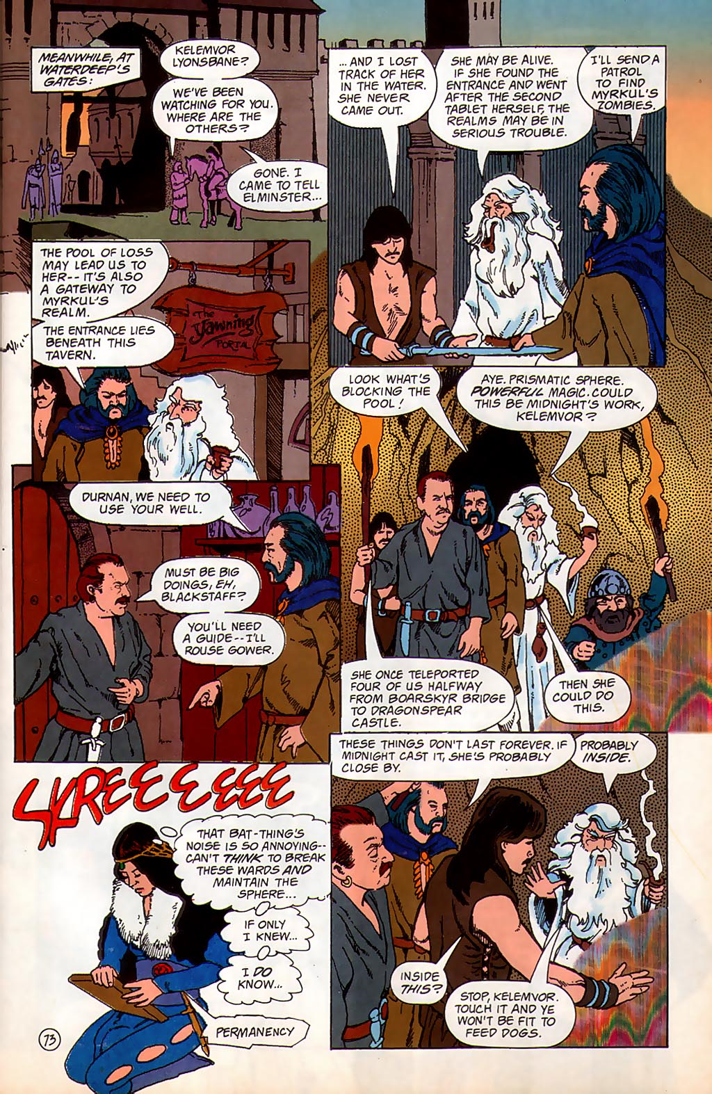 Read online Avatar comic -  Issue #3 - 74