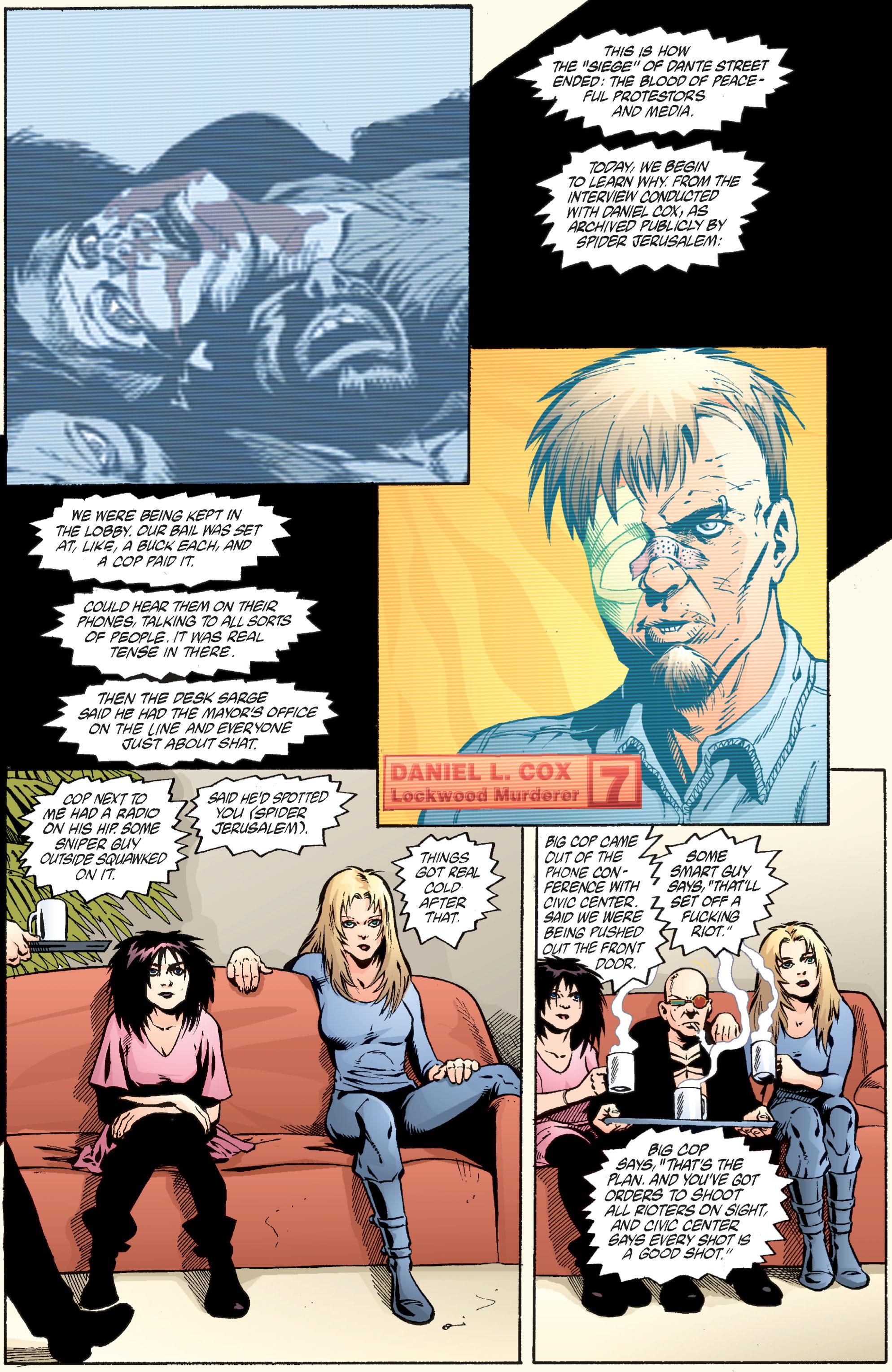 Read online Transmetropolitan comic -  Issue #36 - 11