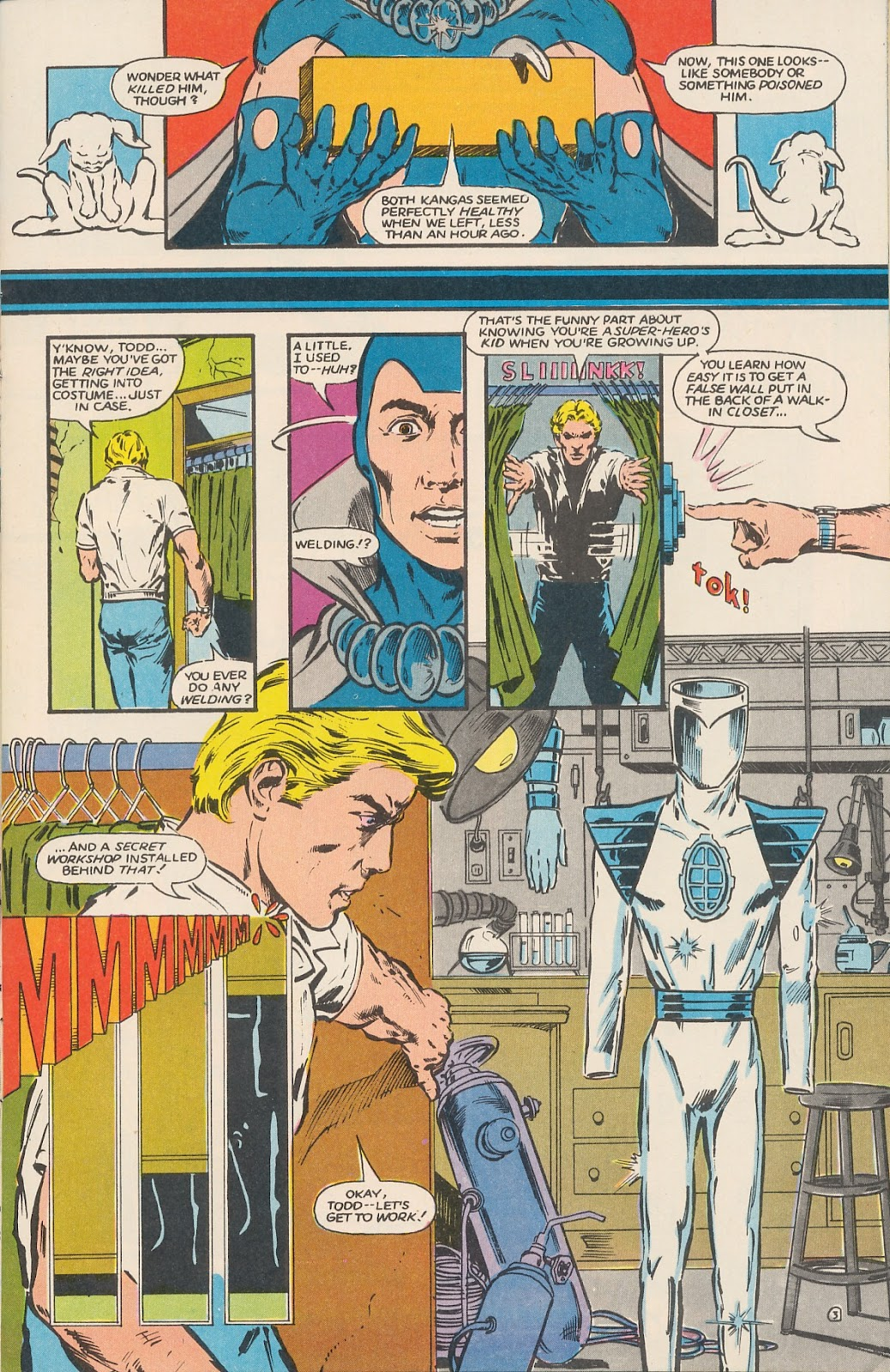 Infinity Inc. (1984) issue 17 - Page 5