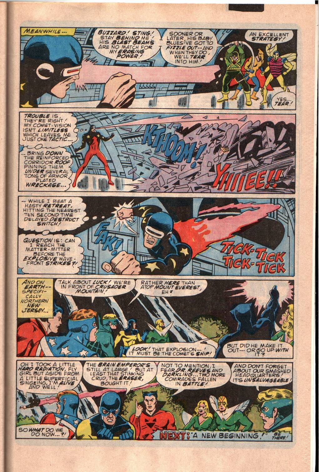The All New Adventures of the Mighty Crusaders 11 Page 29