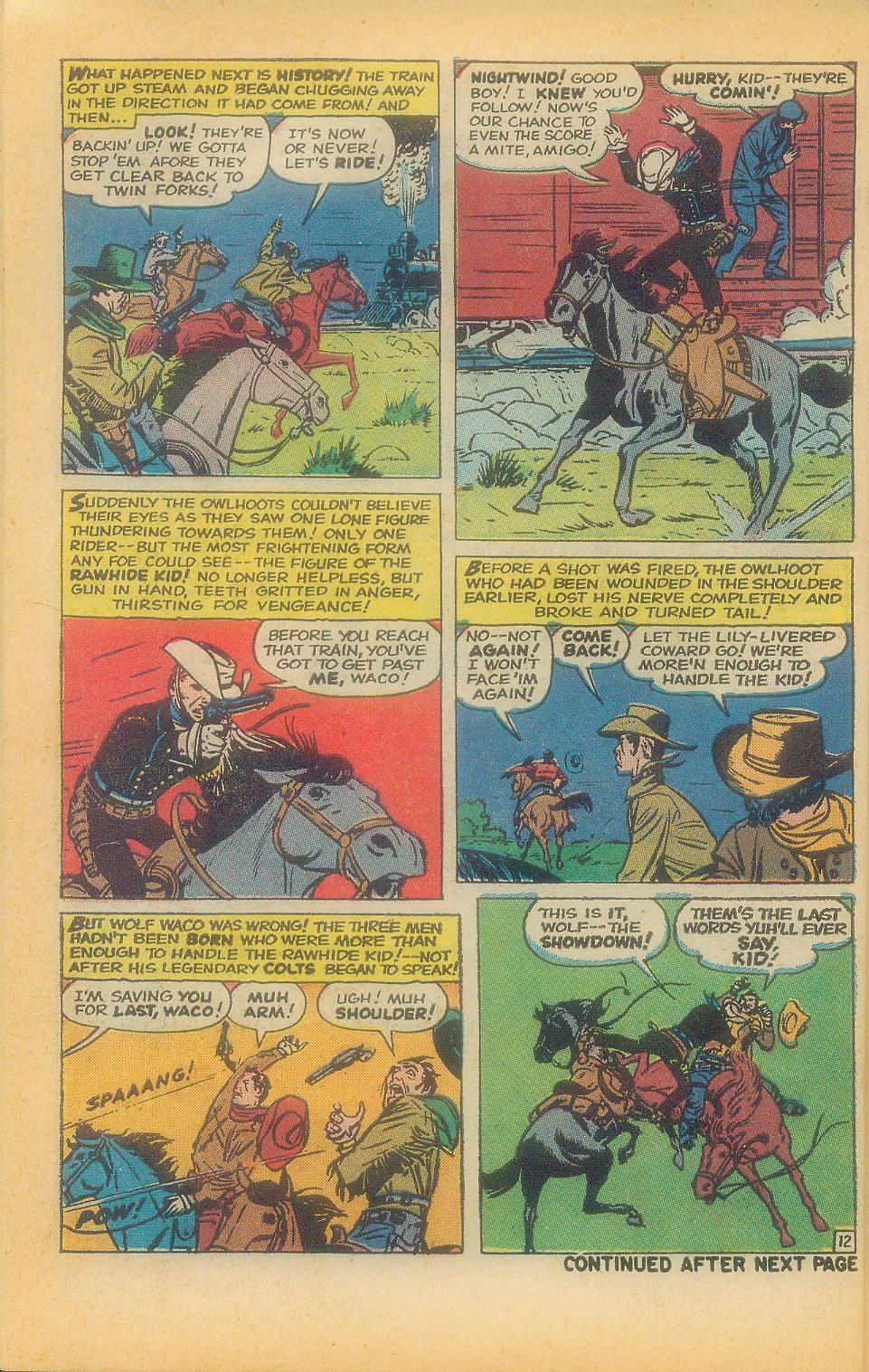The Rawhide Kid (1955) issue 92 - Page 32