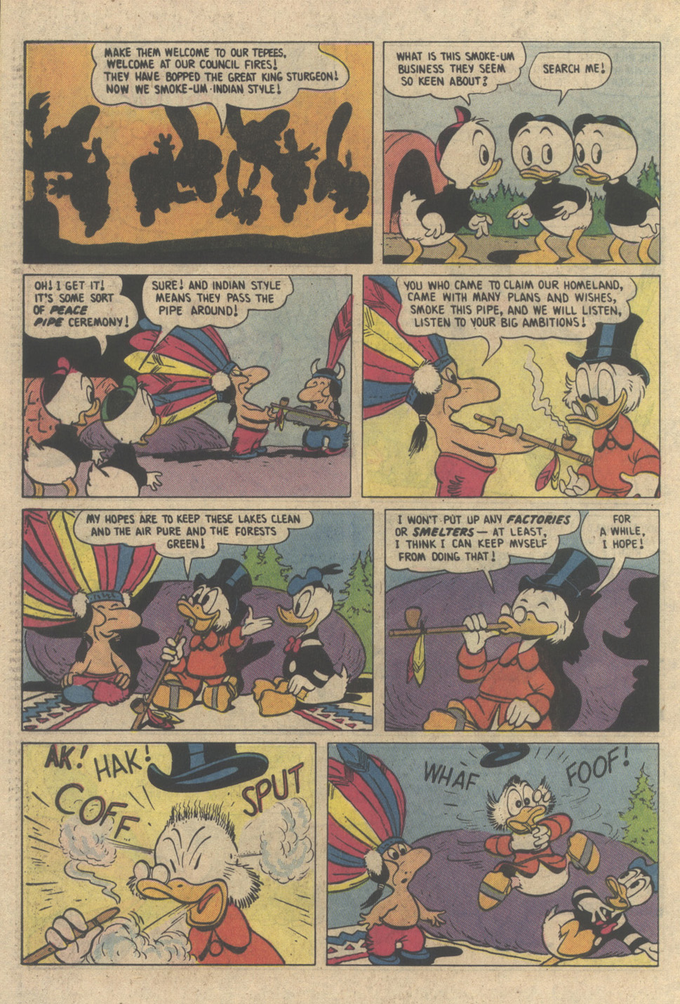 Read online Uncle Scrooge (1953) comic -  Issue #208 - 28