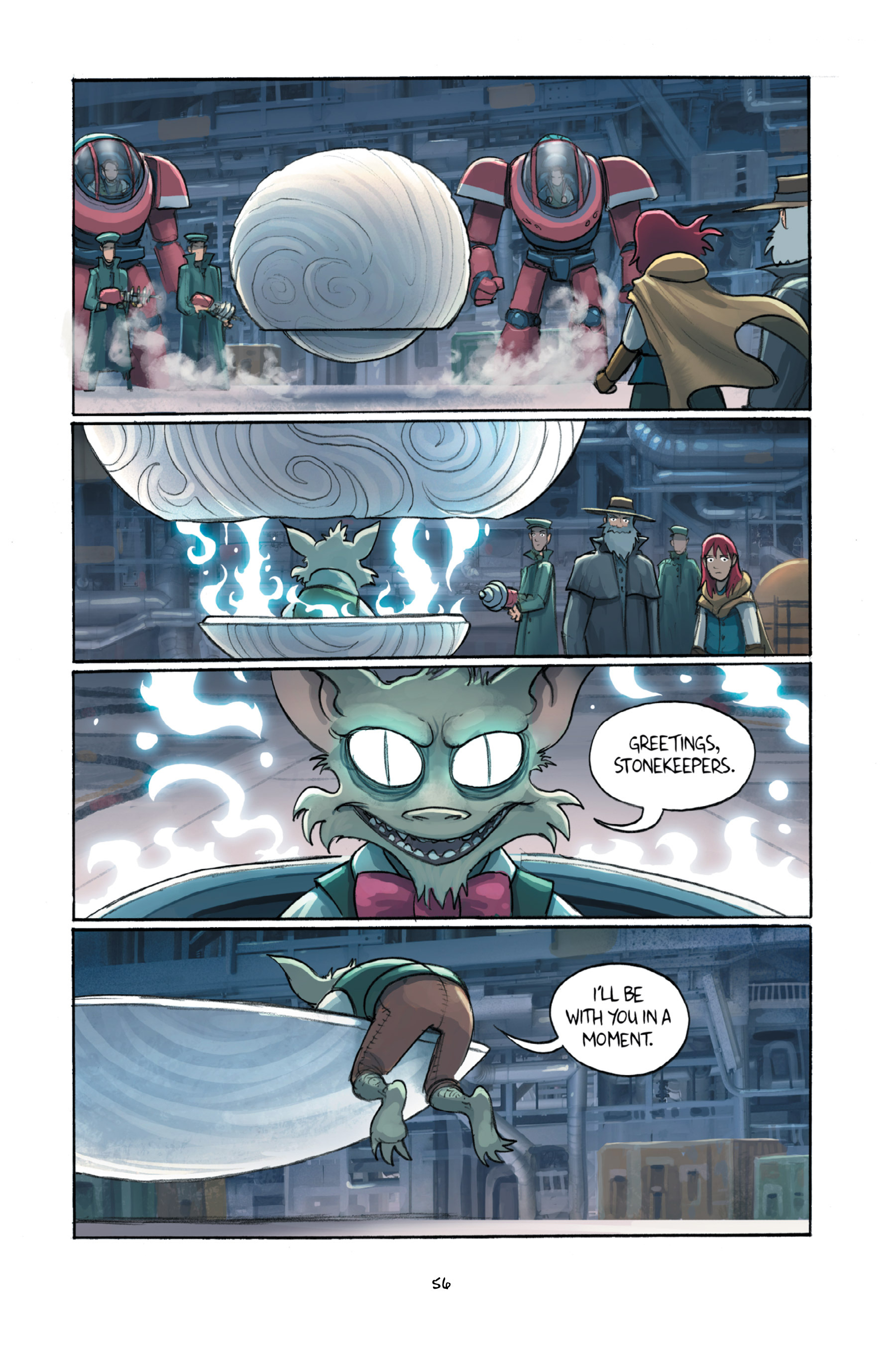 Read online Amulet comic -  Issue #6 - 58