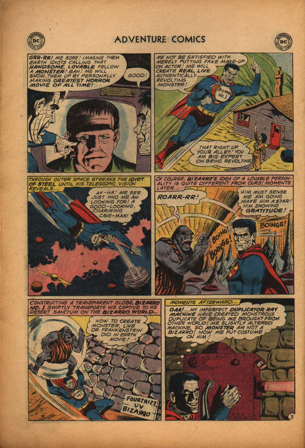 Read online Adventure Comics (1938) comic -  Issue #292 - 22