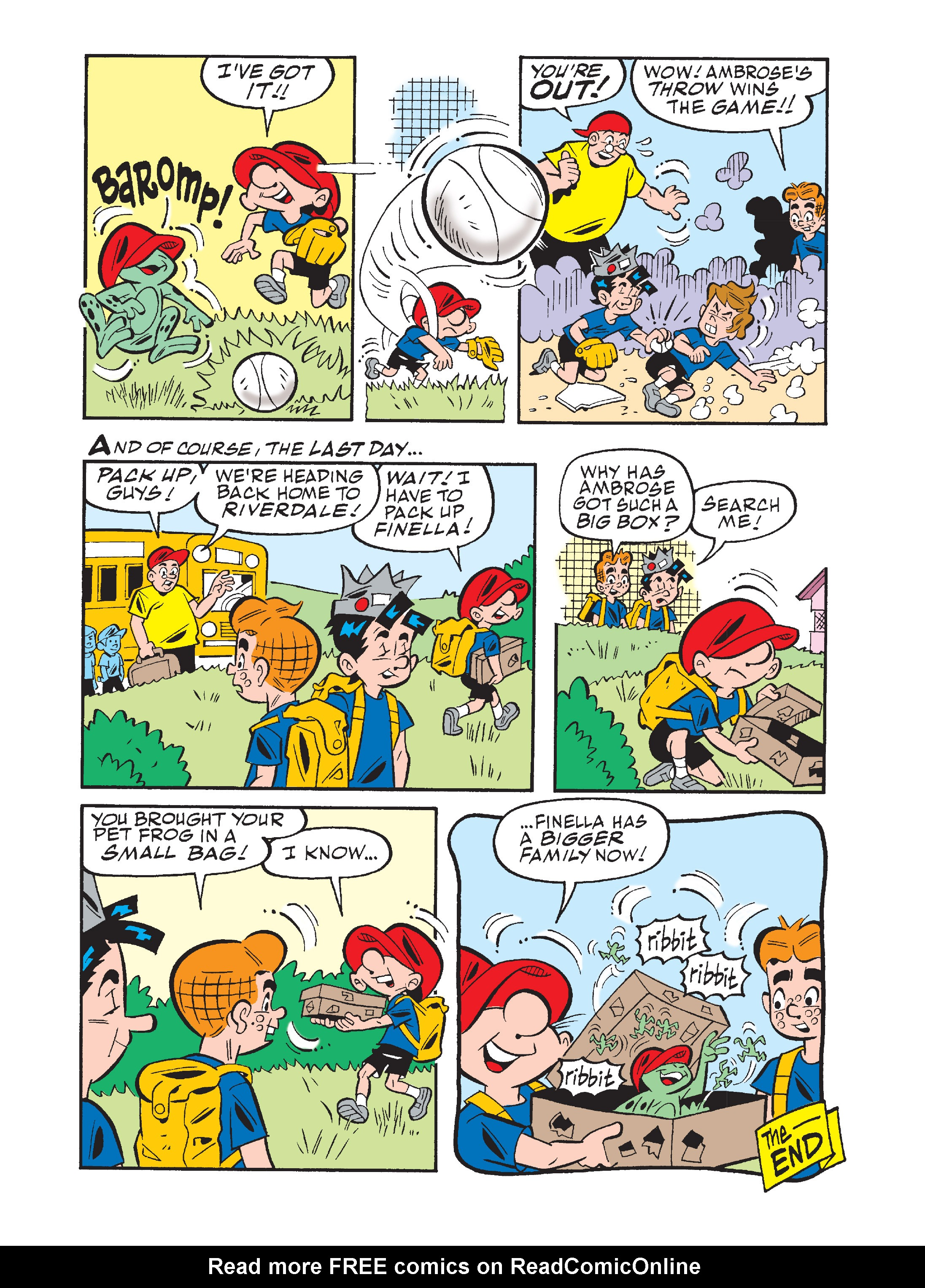 Read online Archie's Funhouse Double Digest comic -  Issue #7 - 136
