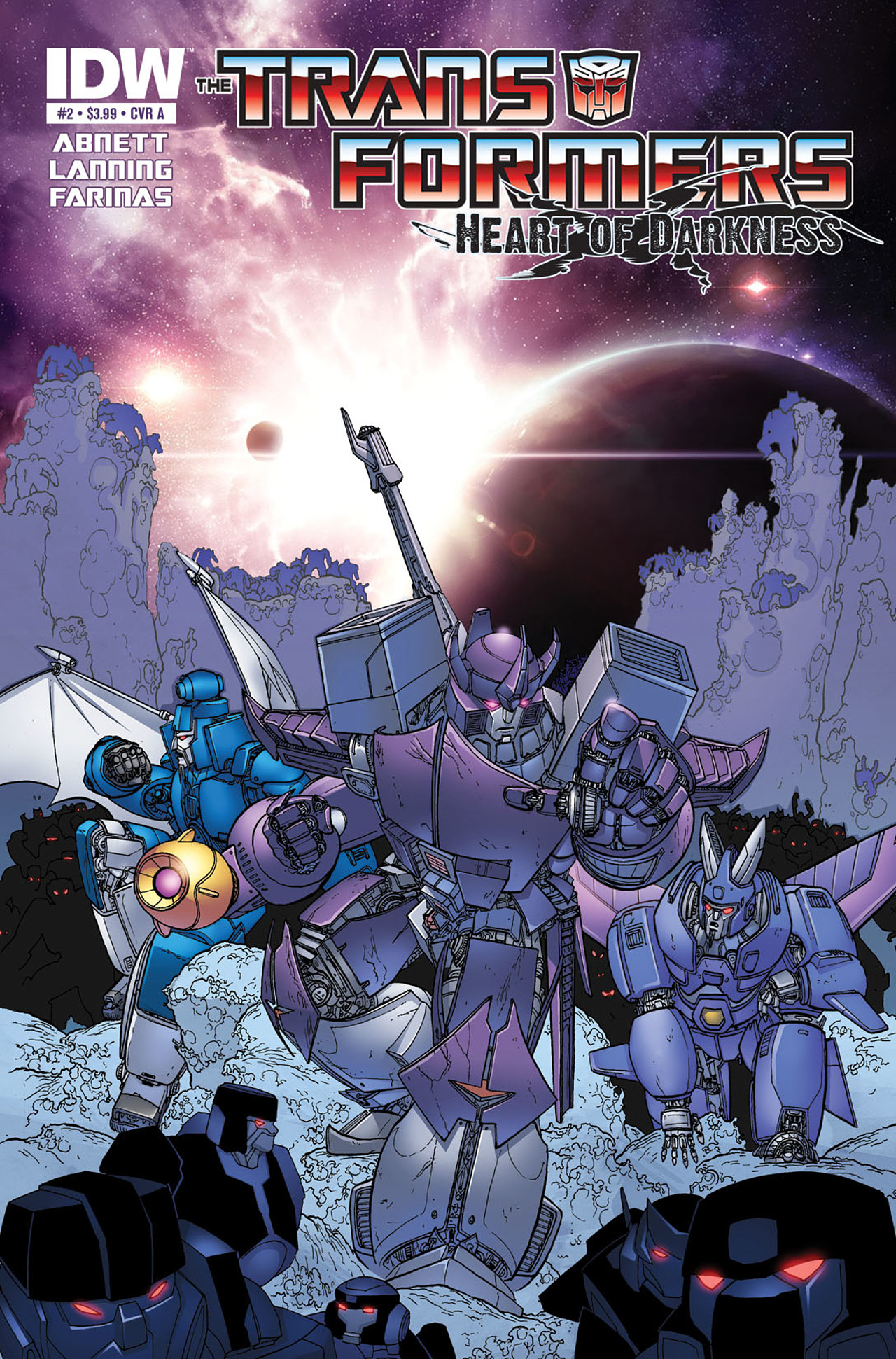 Read online Transformers: Heart of Darkness comic -  Issue #2 - 1